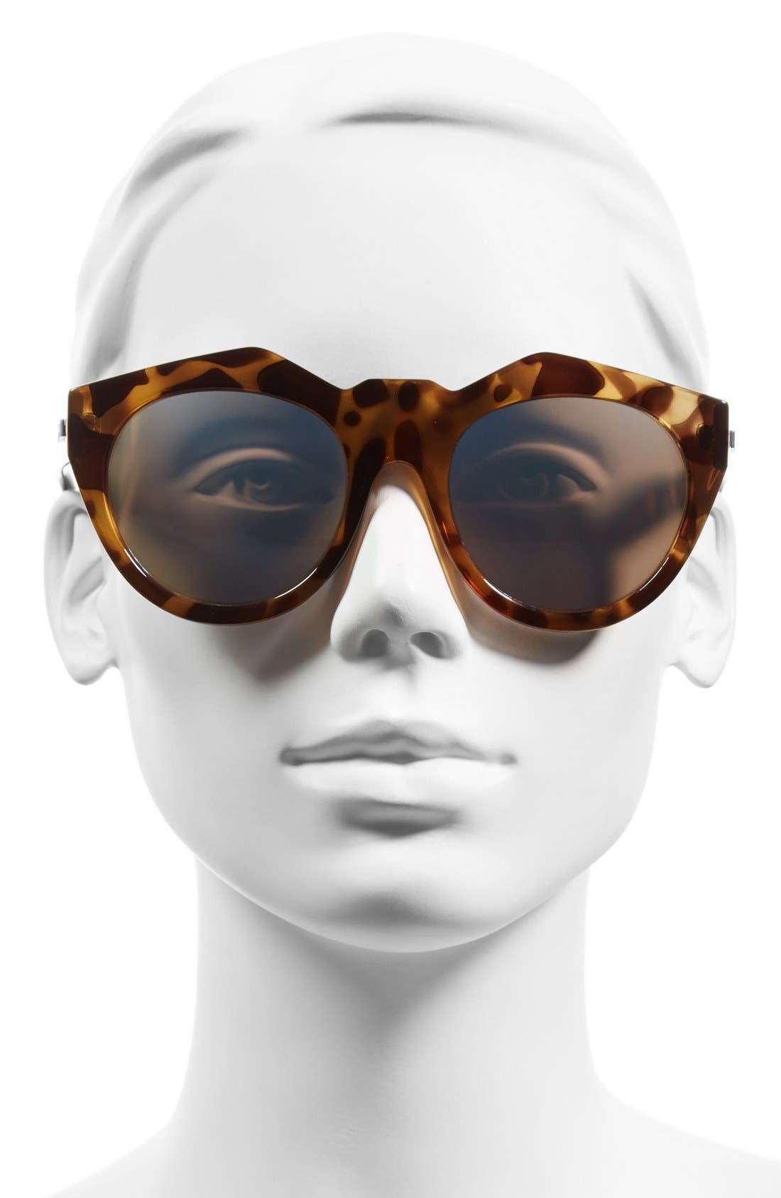 Alternate Image 2  - Le Specs 'Neo Noir' 53mm Oversized Sunglasses