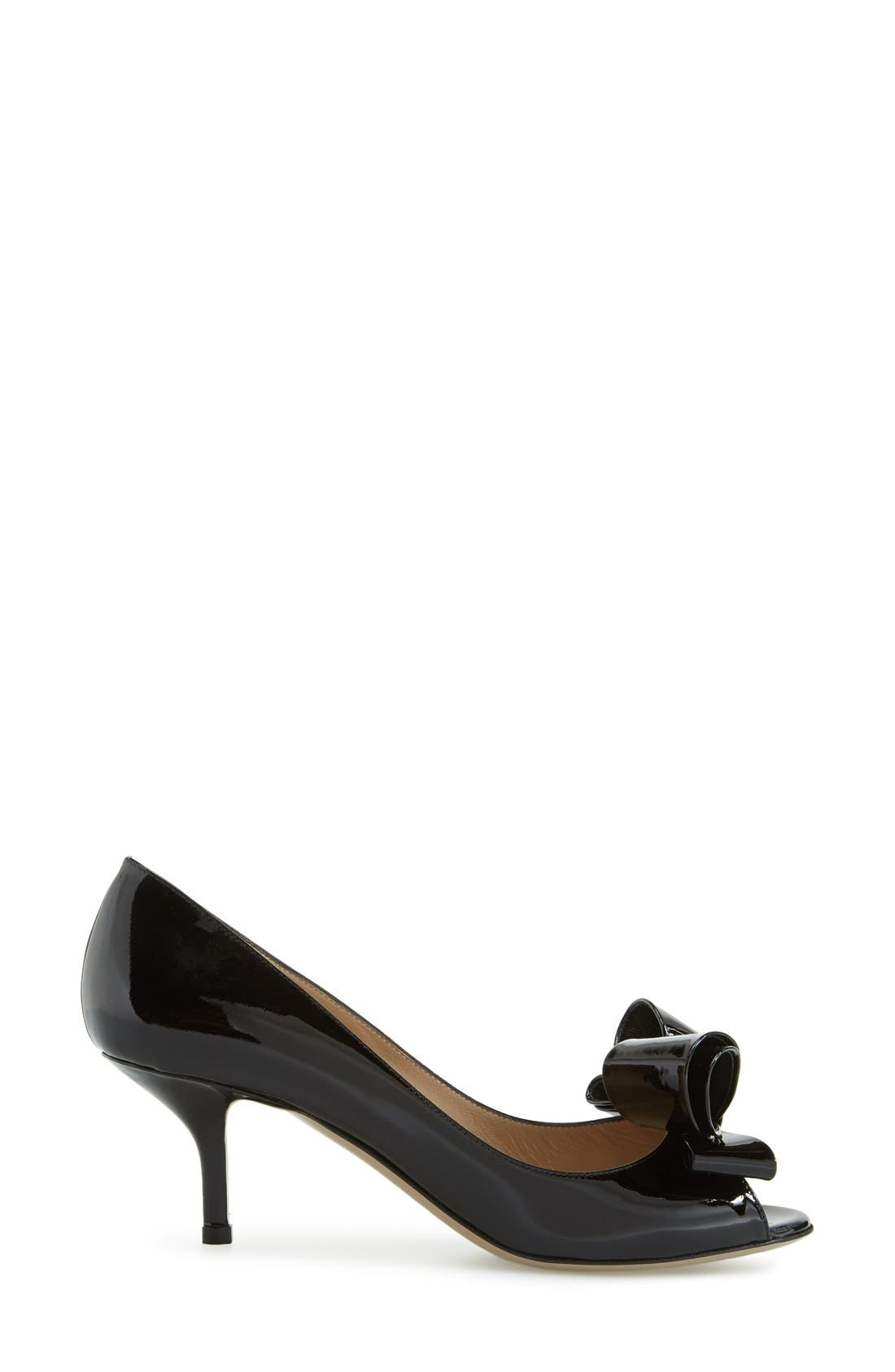 Alternate Image 4  - VALENTINO GARAVANI Couture Bow Pump (Women)