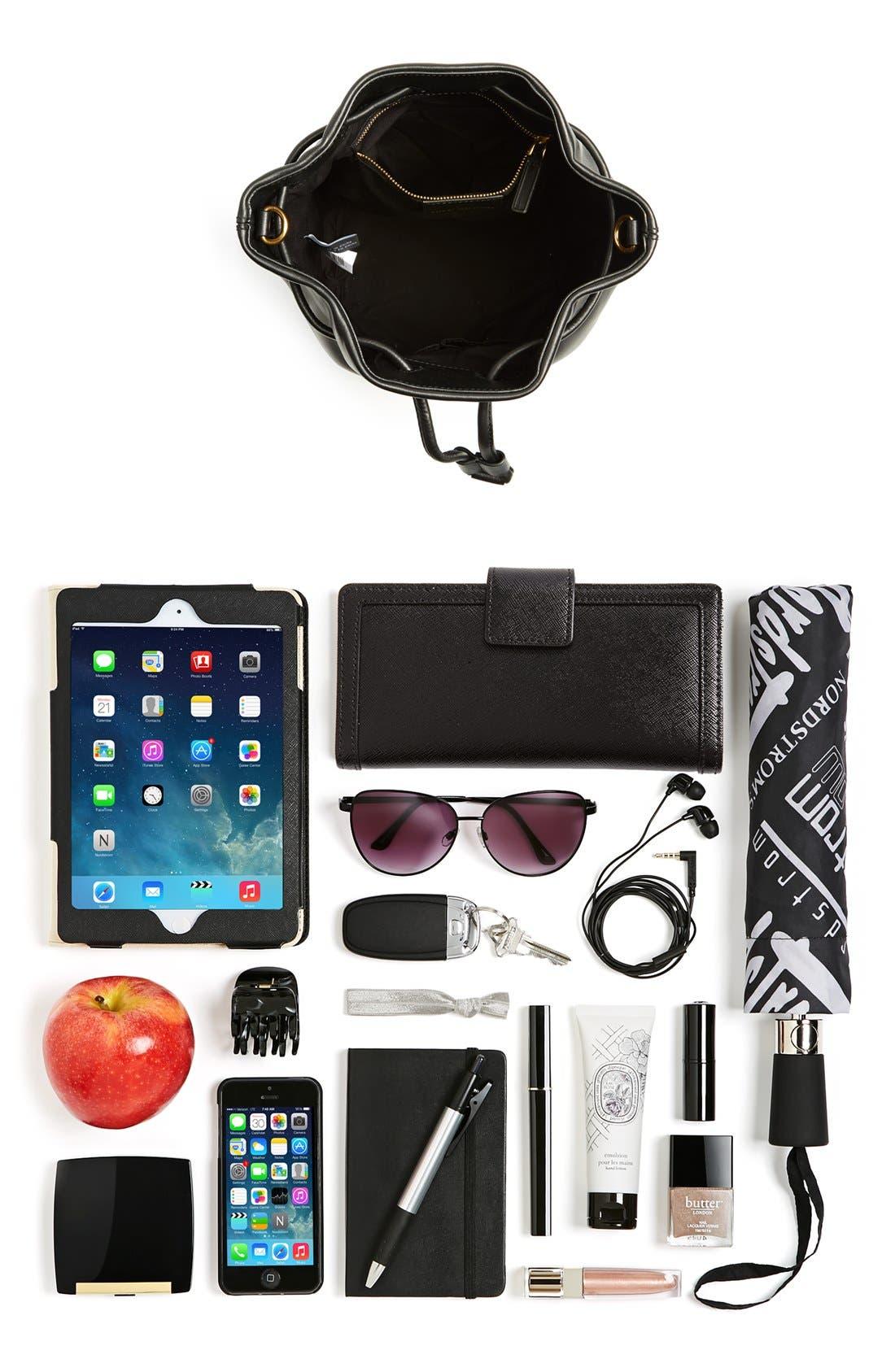 Alternate Image 7  - MARC BY MARC JACOBS 'Luna' Leather Drawstring Bucket Bag
