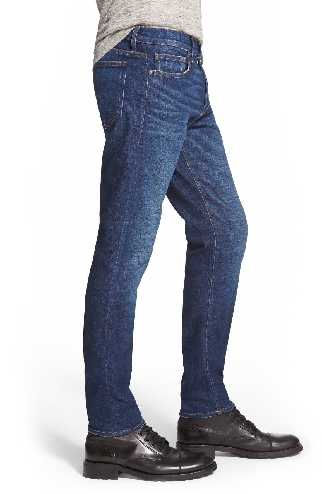 Alternate Image 3  - FRAME L'Homme Slim Fit Jeans (Niagra)