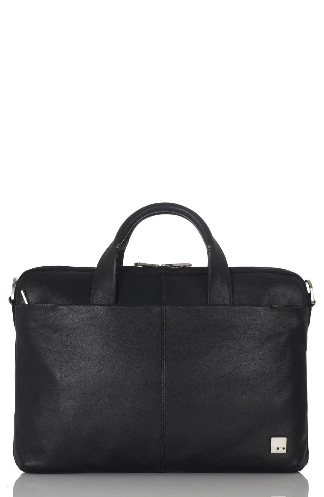 Alternate Image 1 Selected - KNOMO London 'Henderson' Briefcase