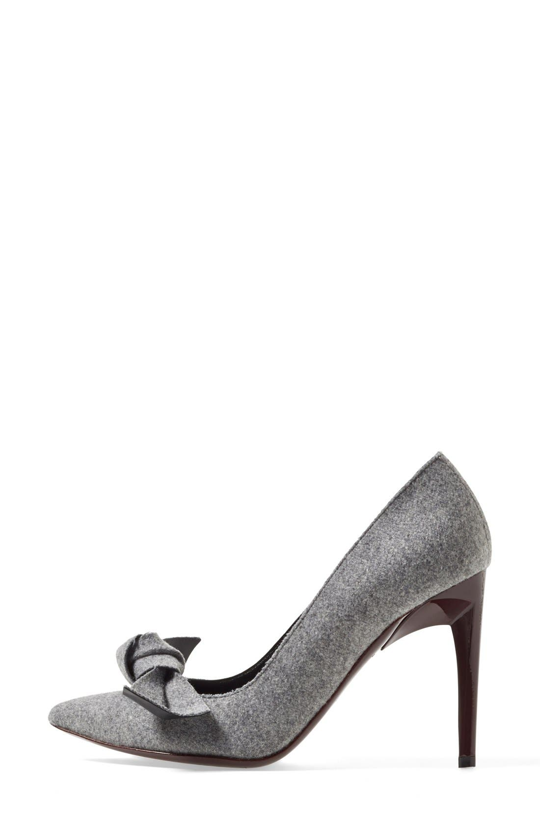 Alternate Image 4  - Proenza Schouler Bow Pointy Toe Pump (Women)