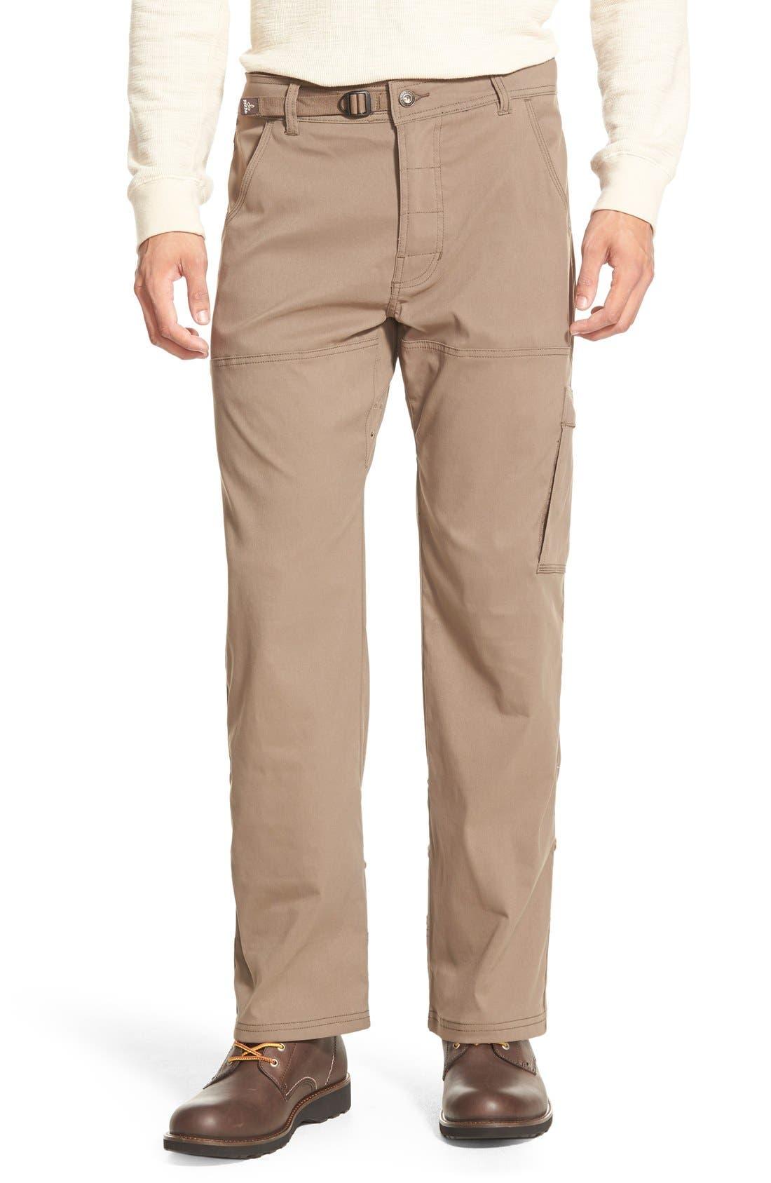 Zion Stretch Pants,                         Main,                         color, Mud