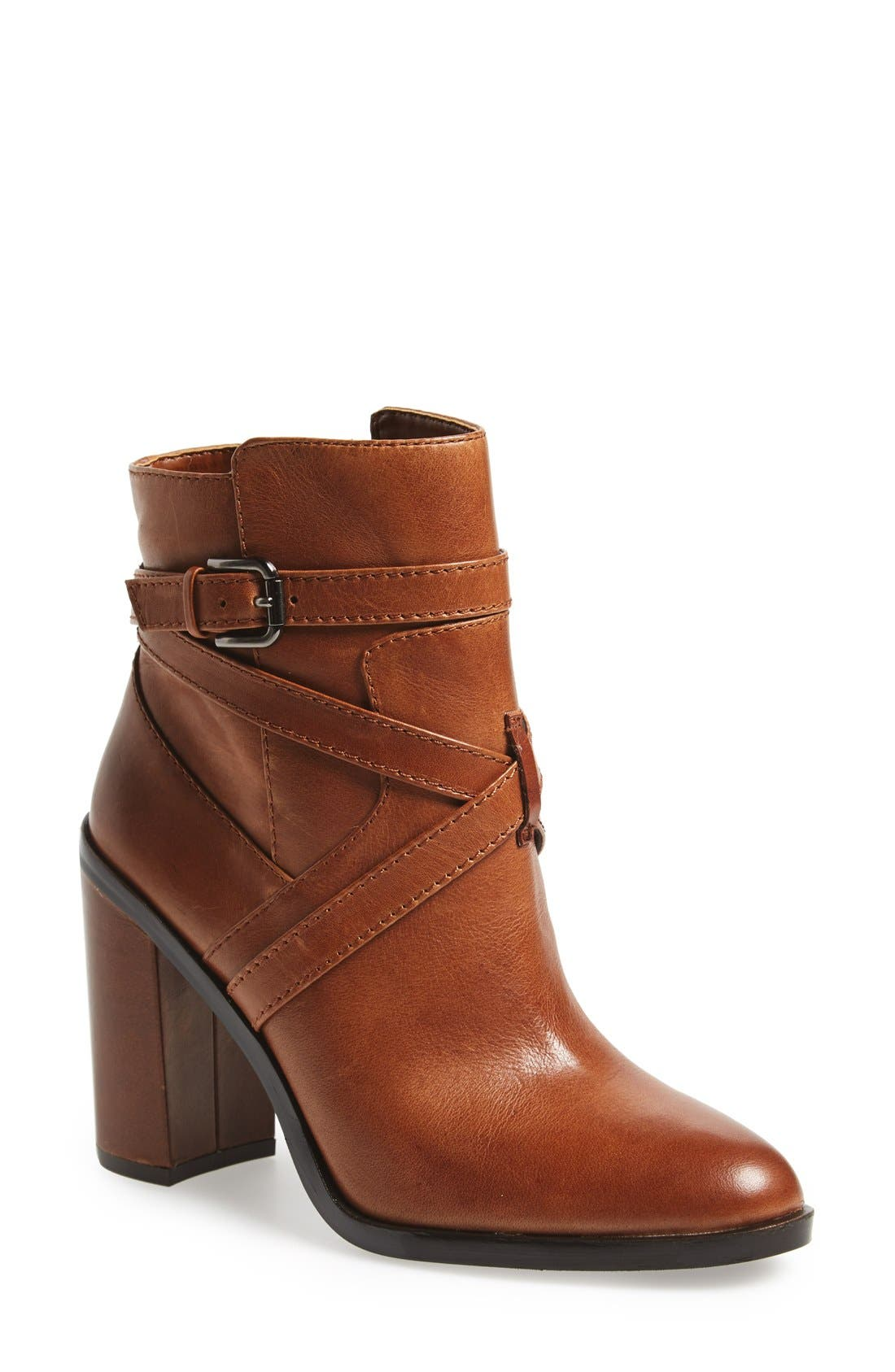 Main Image - Vince Camuto 'Gravell' Belted Boot (Women)