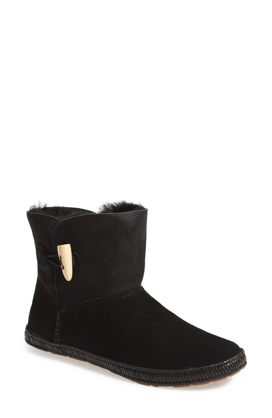 'Garnet' Toggle Boot,                             Main thumbnail 1, color,                             Black