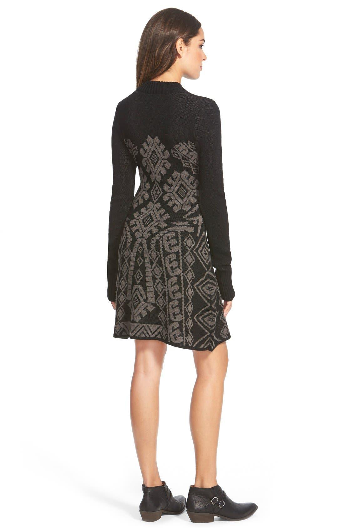 Alternate Image 2  - Element 'Maren' Jacquard Sweater Dress