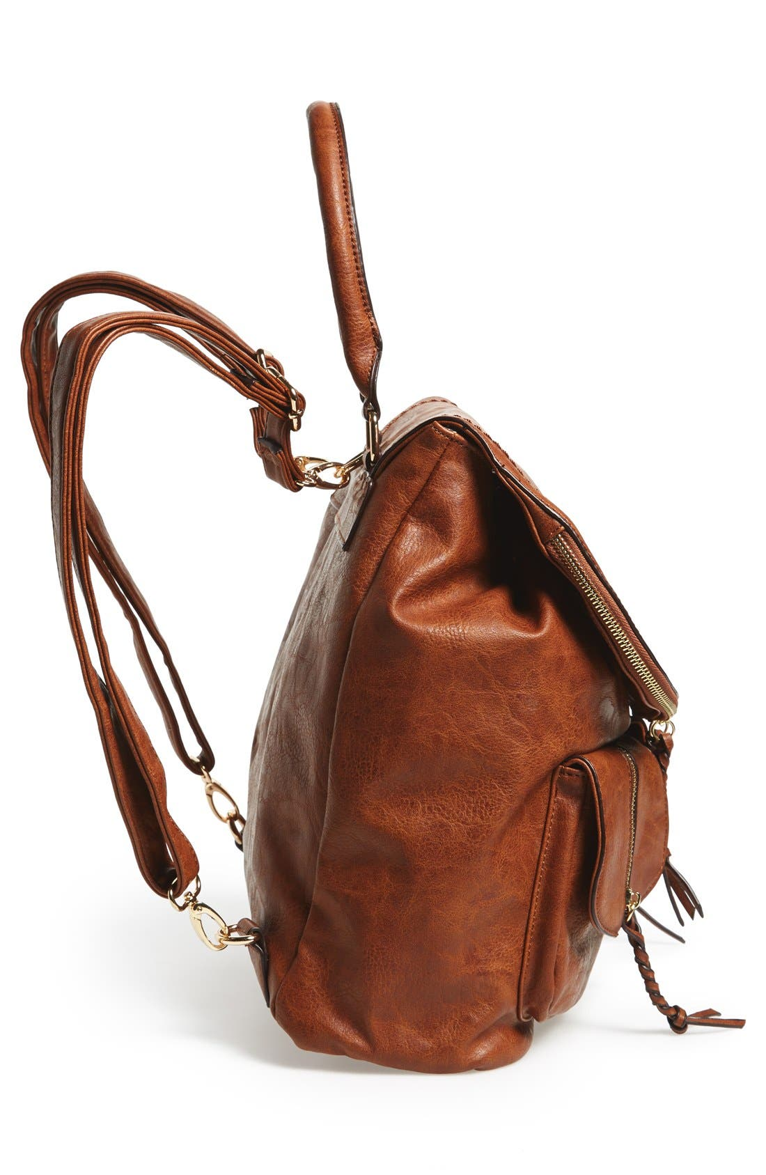 Alternate Image 5  - Sole Society Emery Faux Leather Backpack