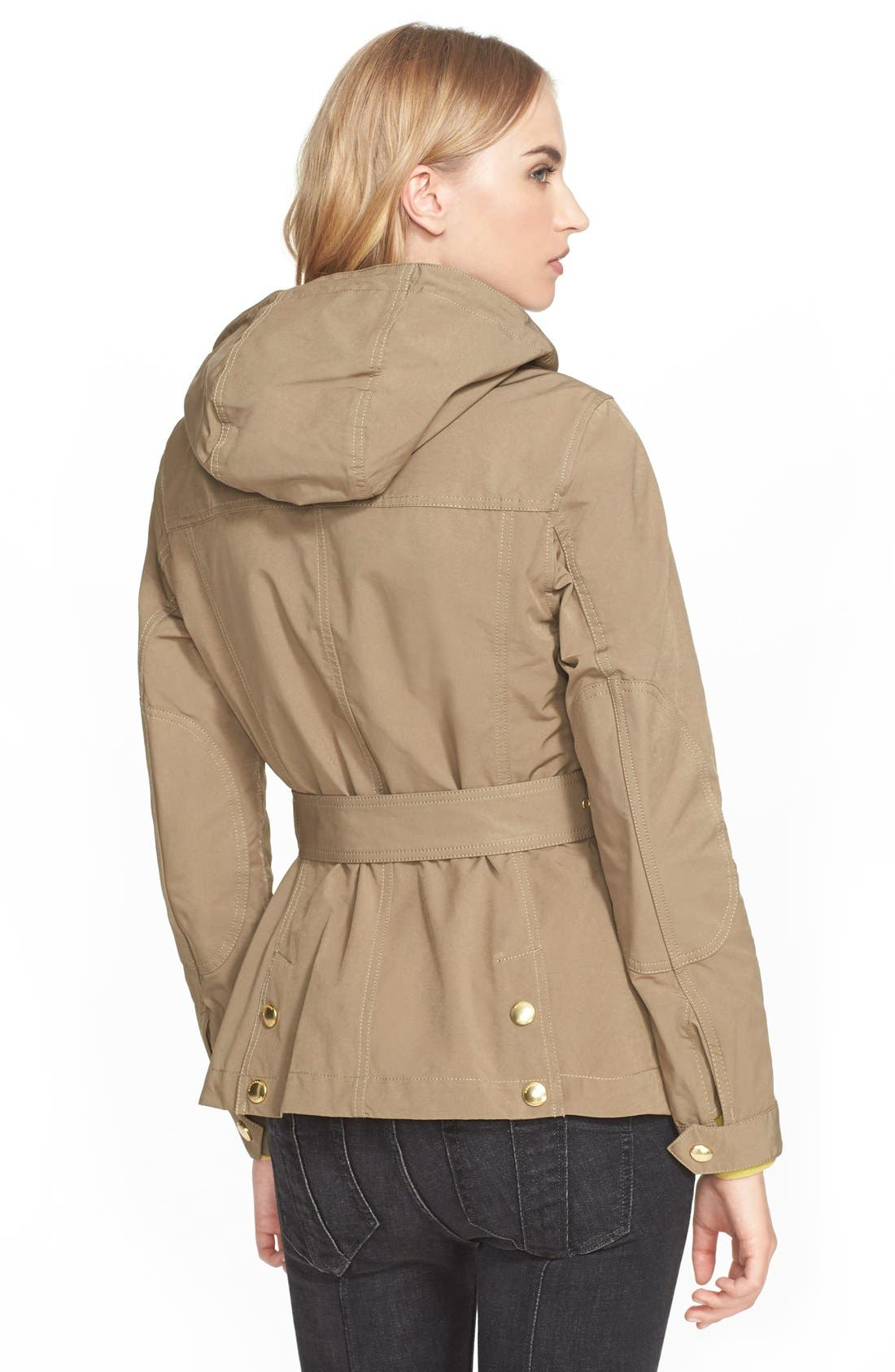 Alternate Image 2  - Burberry Brit 'Fenbridge' Belted Jacket