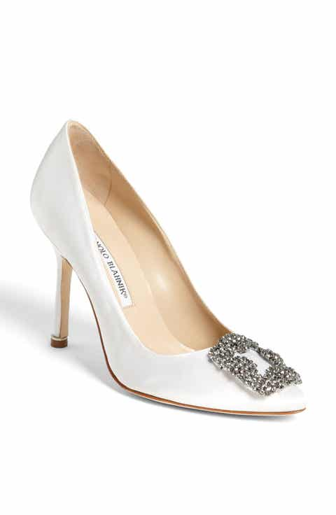 Manolo Blahnik Hangisi Jewel Pump