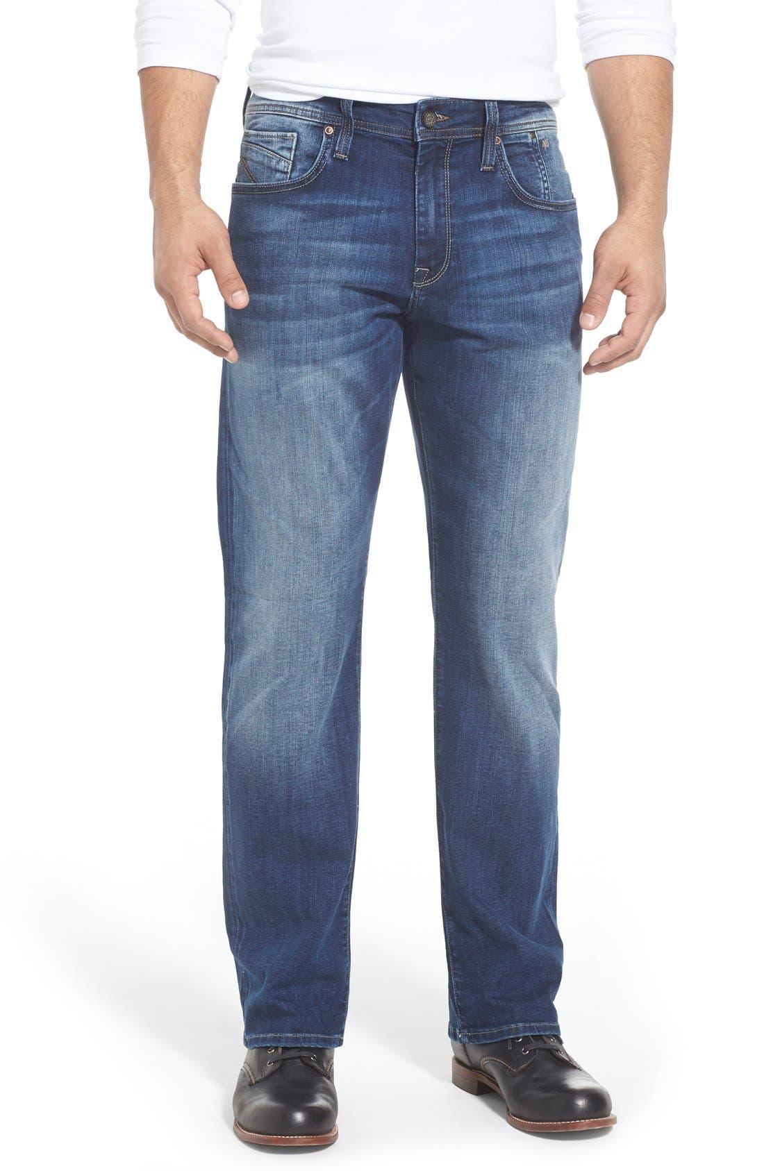 Main Image - Mavi Jeans 'Matt' Relaxed Fit Jeans (Mid Indigo Cooper)