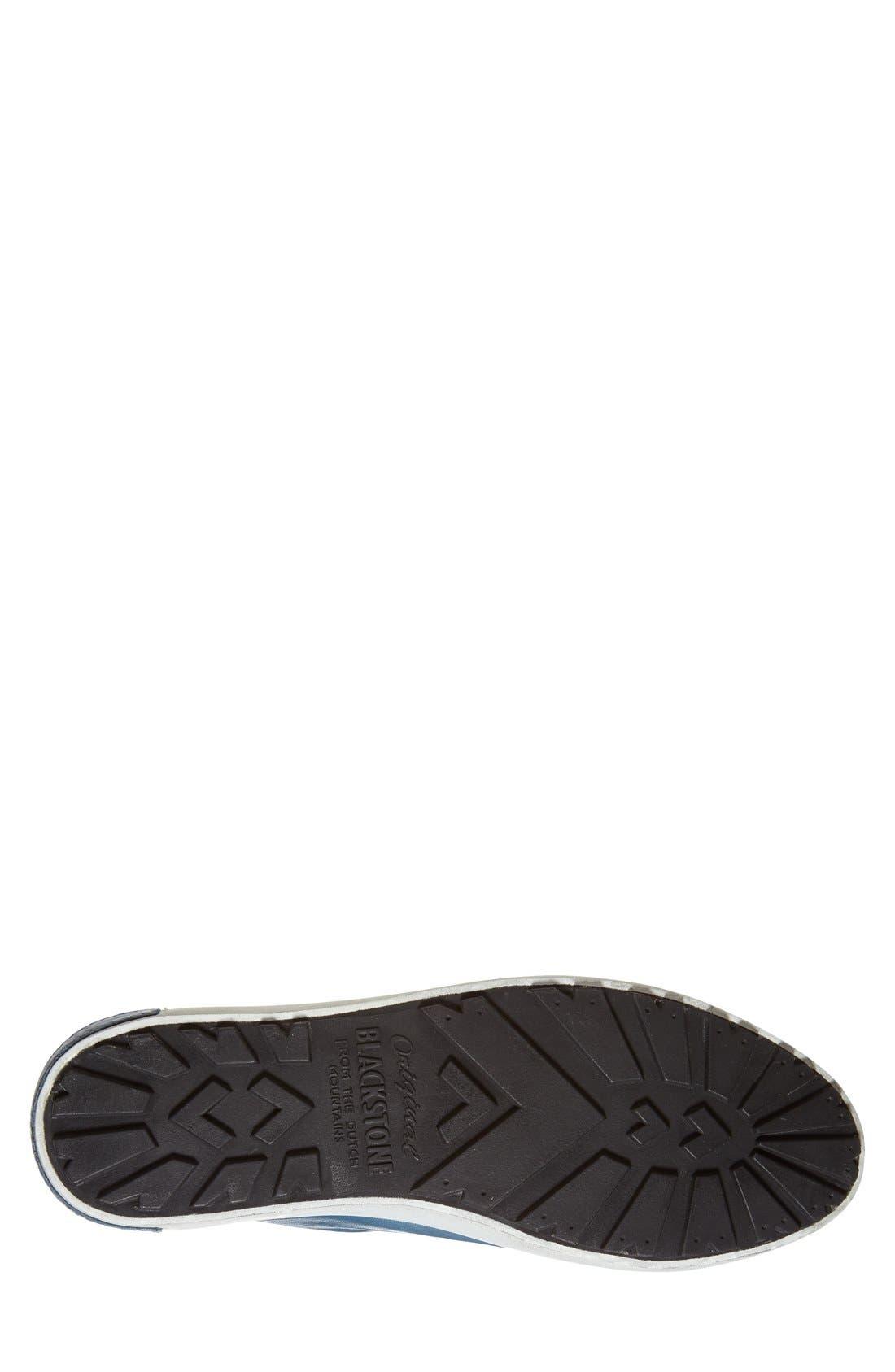 'JM03' Sneaker,                             Alternate thumbnail 2, color,                             Light Indigo Leather