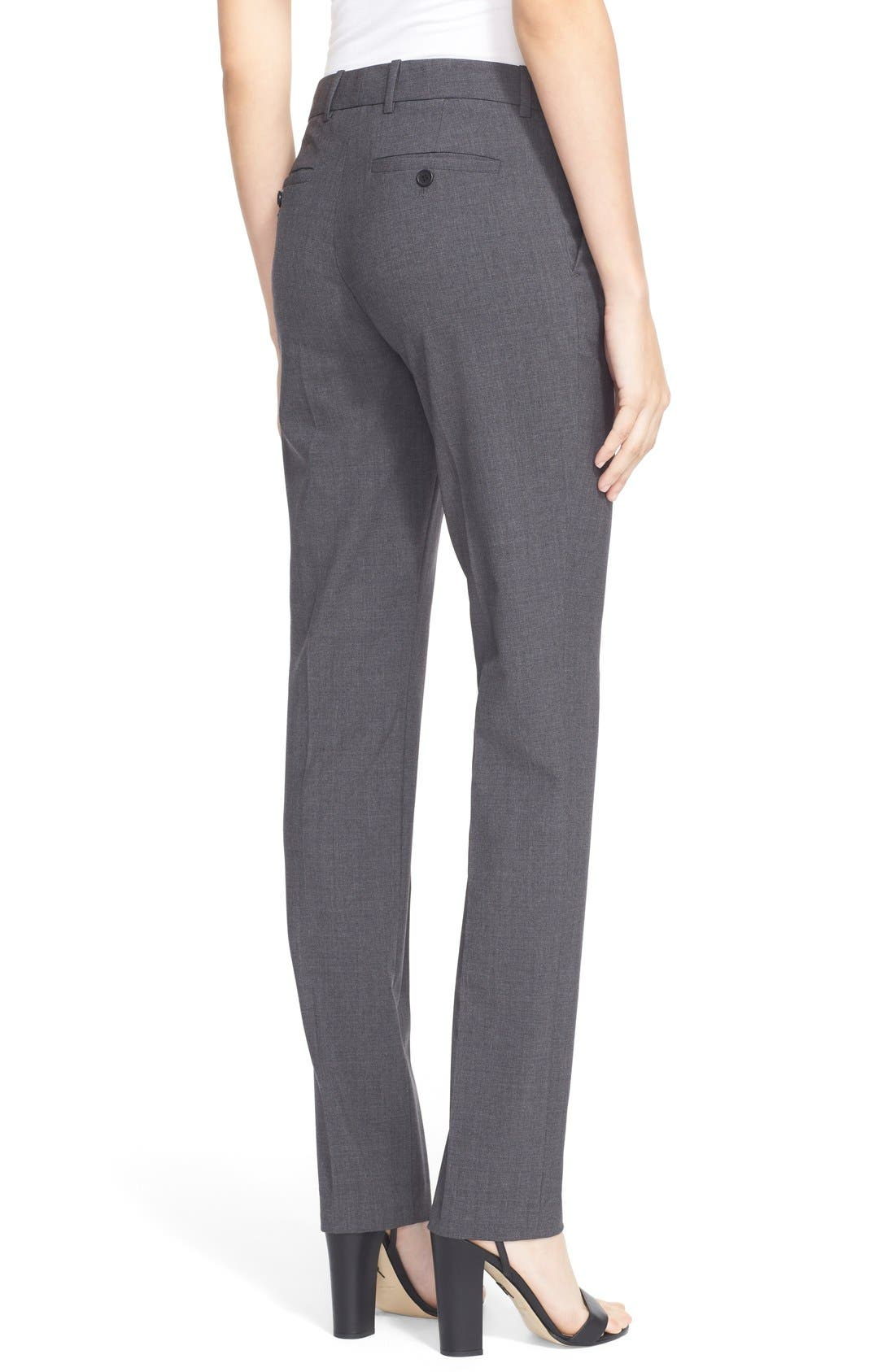 Alternate Image 2  - Theory 'Super Slim Edition' Stretch Wool Pants