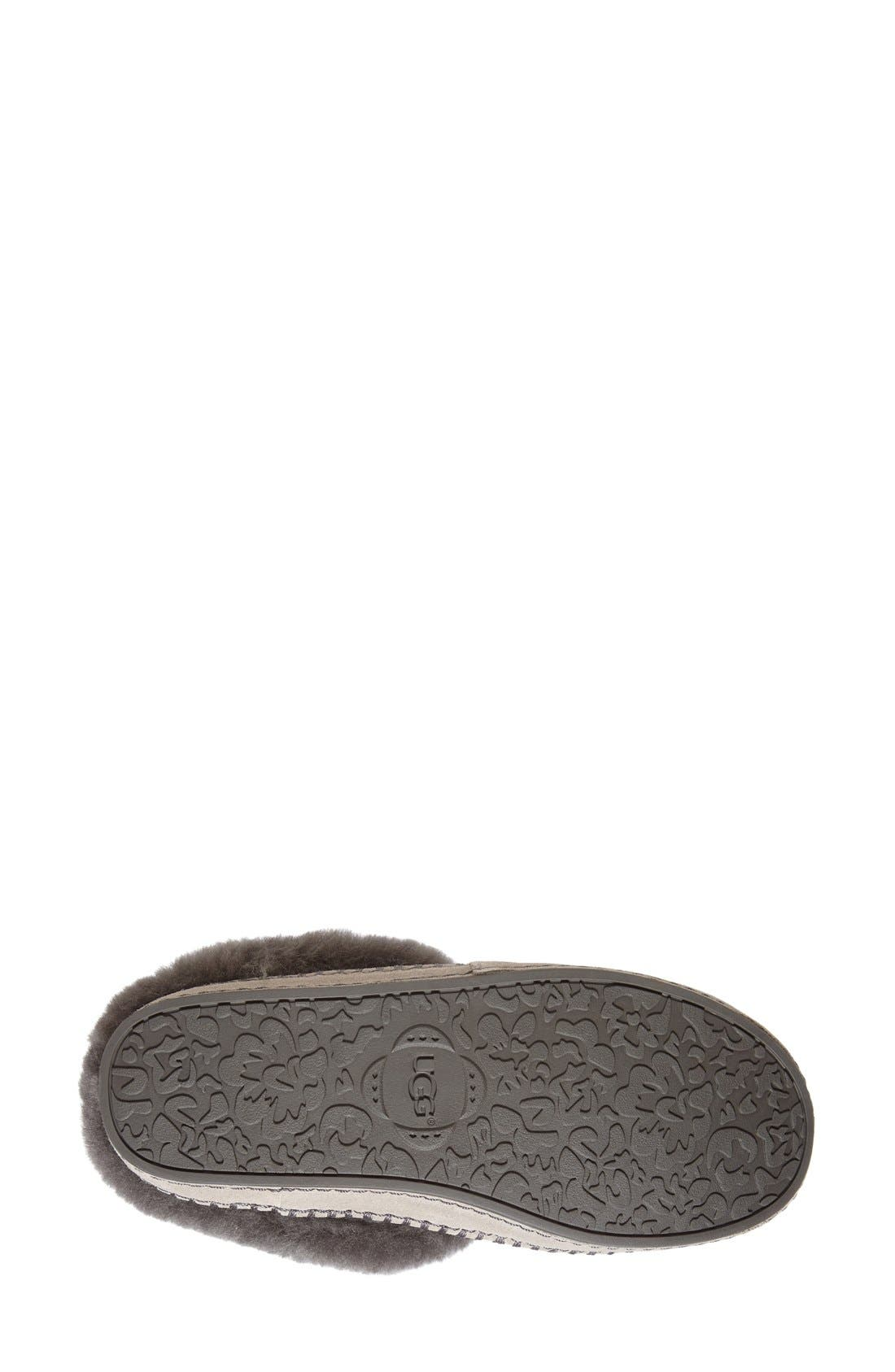 Alternate Image 4  - UGG® Wrin Slipper (Women)