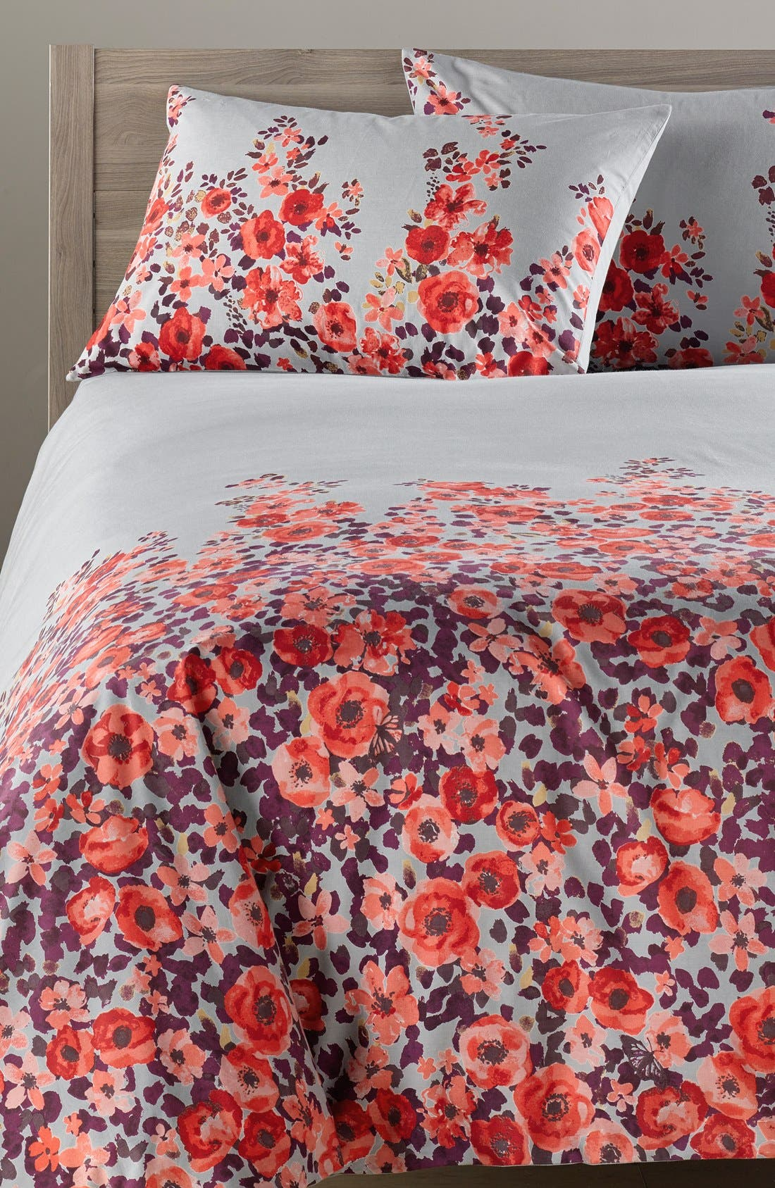 Alternate Image 1 Selected - Nordstrom at Home 'Wallflowers' Duvet Cover