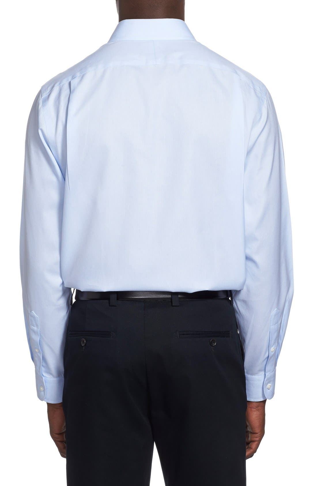 Alternate Image 3  - Nordstrom Men's Shop Smartcare™ Wrinkle Free Traditional Fit Herringbone Dress Shirt