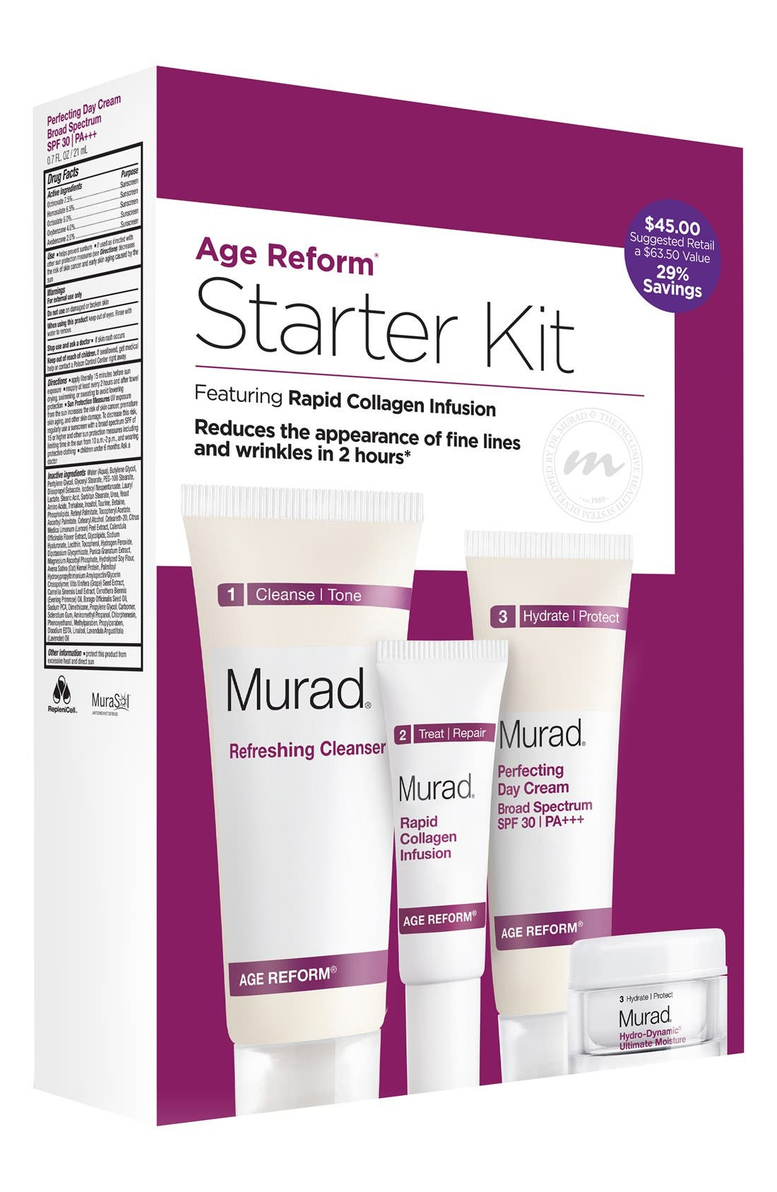 Murad® 'Age Reform' Starter Kit ($66 Value)