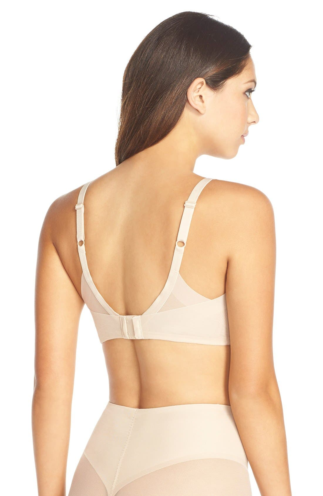 Ultimate Side Smoother Underwire T-Shirt Bra,                             Alternate thumbnail 2, color,                             Sand