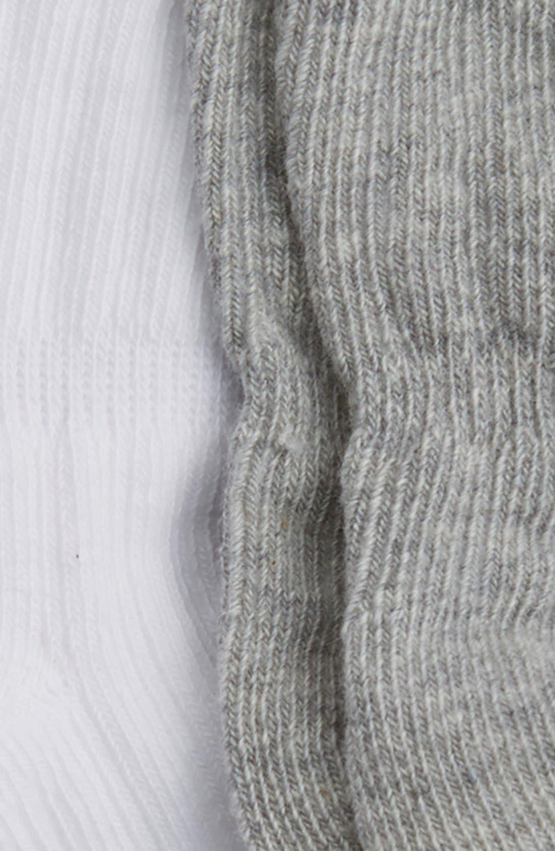3-Pack Ankle Socks,                             Alternate thumbnail 2, color,                             Grey