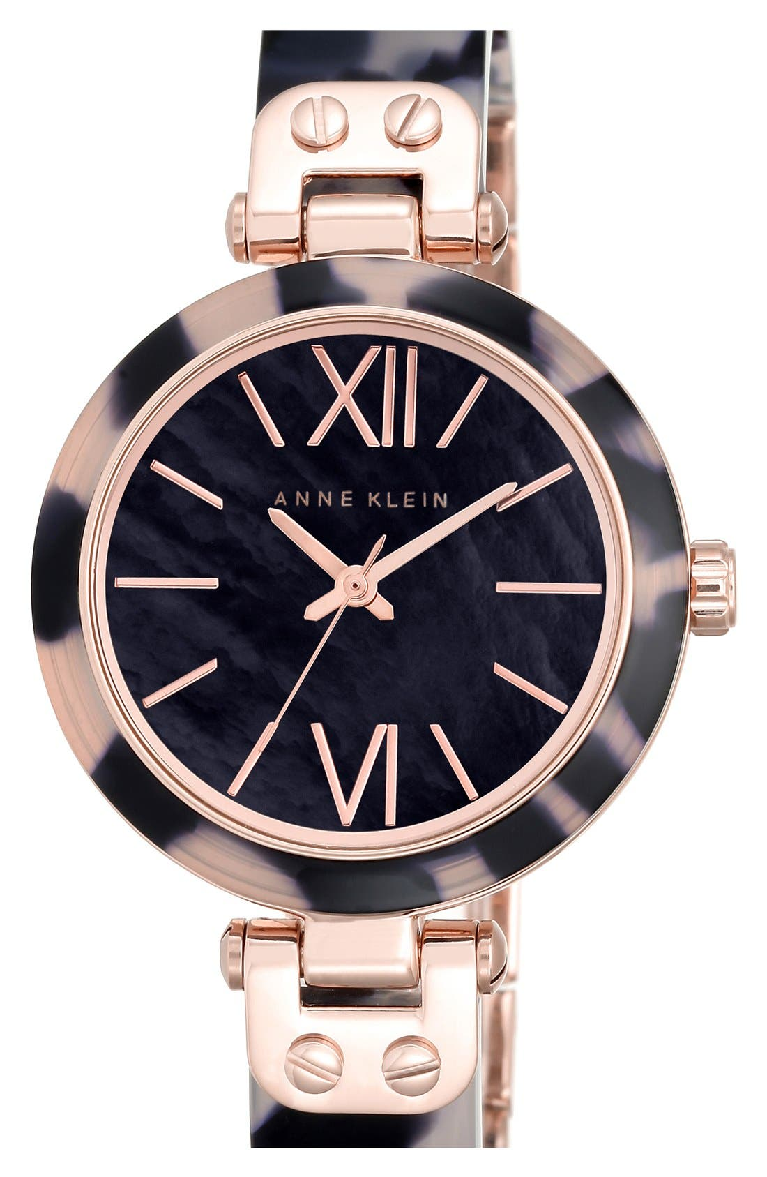 Alternate Image 1 Selected - Anne Klein Bangle Watch, 34mm