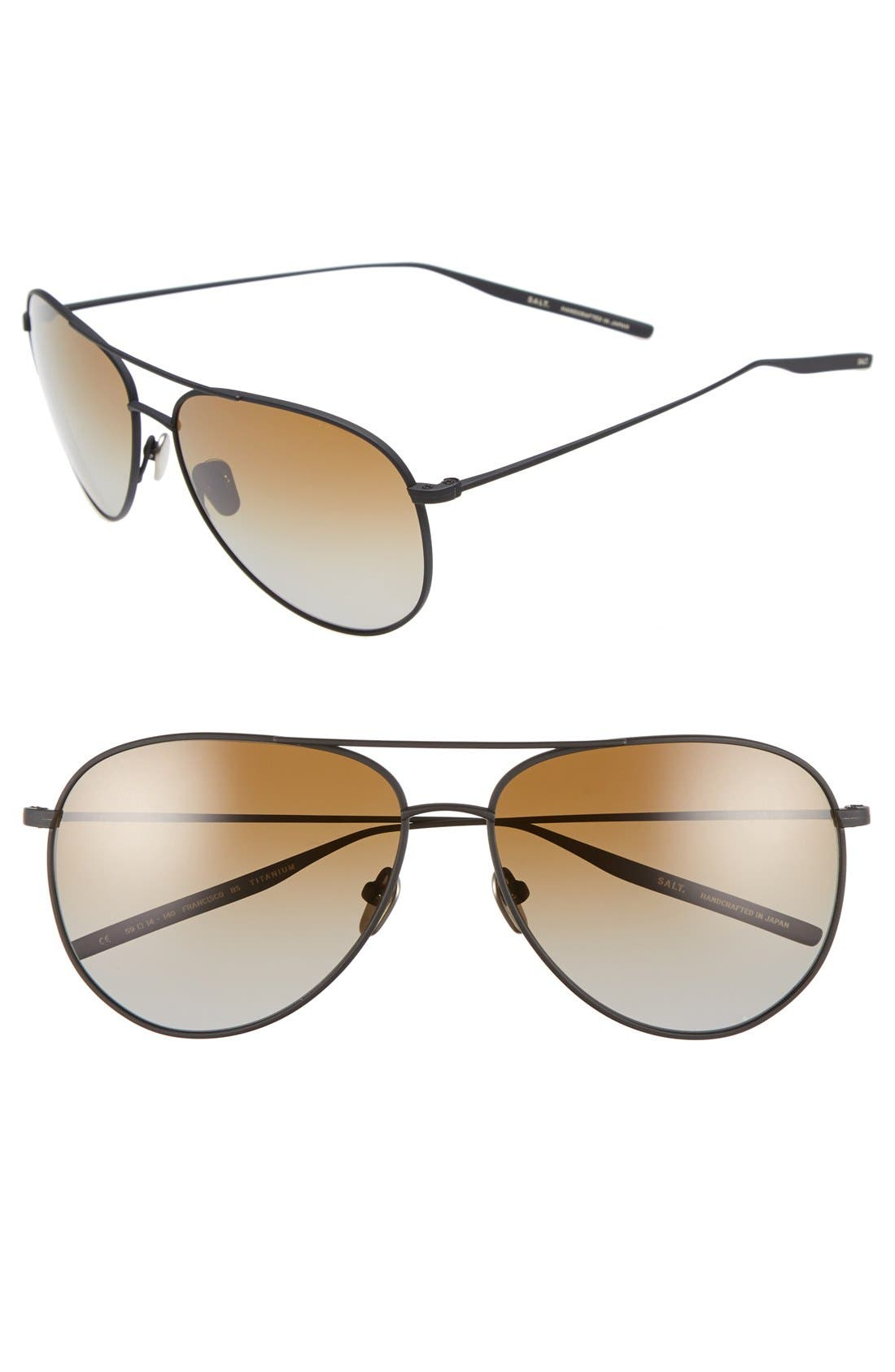 SALT Francisco 59mm Gradient Sunglasses