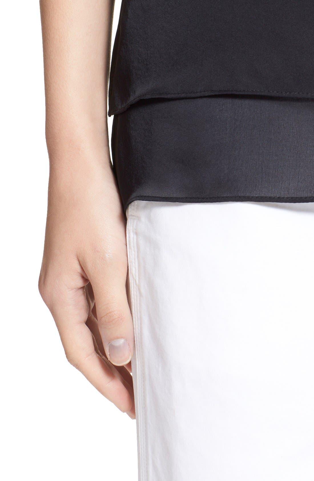 Alternate Image 4  - rag & bone 'Lora' Silk Camisole