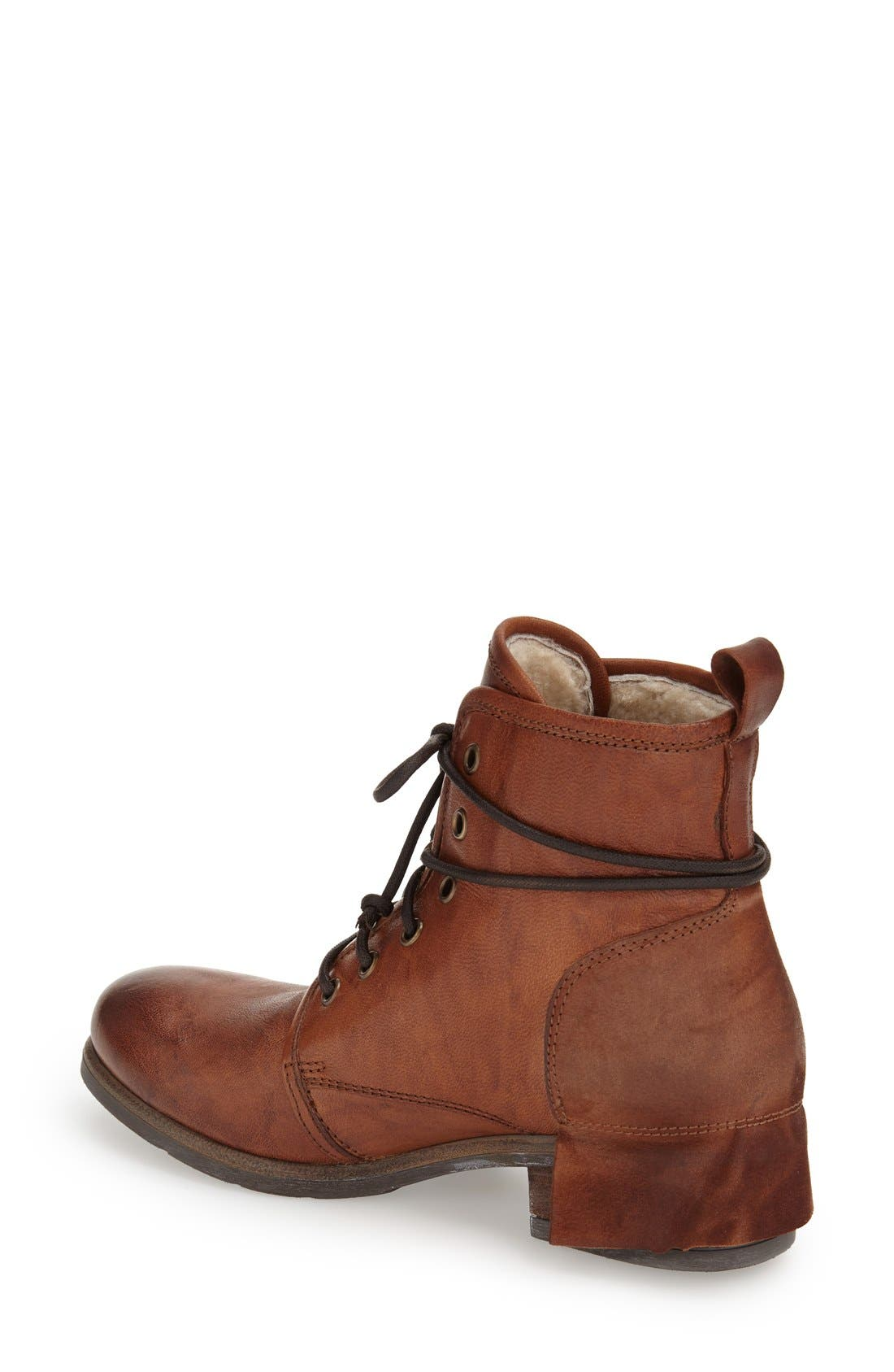 Alternate Image 2  - UGG® Collection 'Tesa' Lace-Up Ankle Boot (Women)