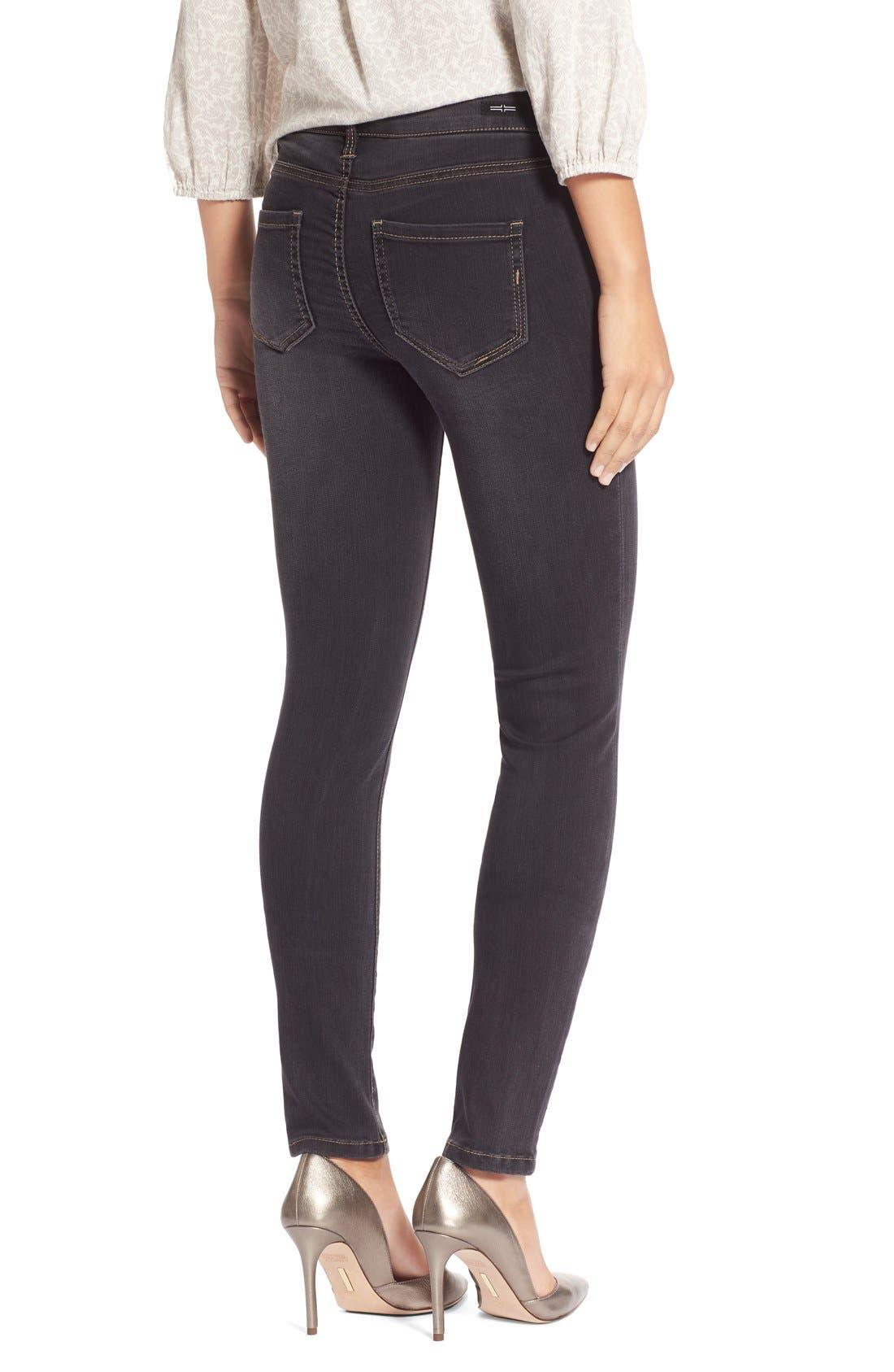 Abby StretchSkinny Jeans,                             Alternate thumbnail 2, color,                             Sulphur