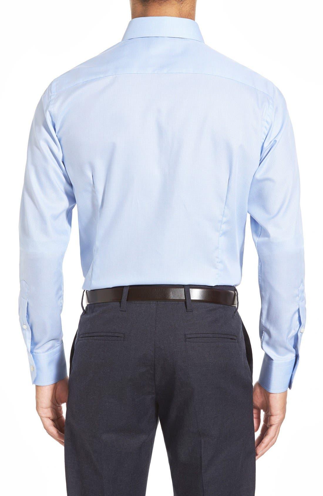 Alternate Image 3  - Eton Contemporary Fit Houndstooth Dress Shirt
