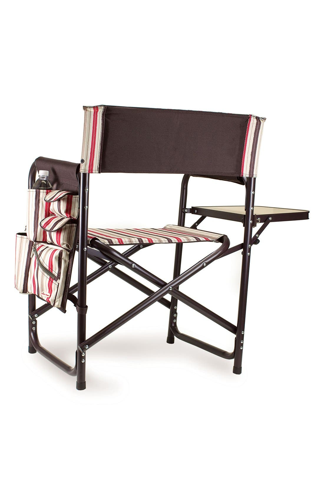 'Sports' Folding Chair,                             Alternate thumbnail 2, color,                             Brown