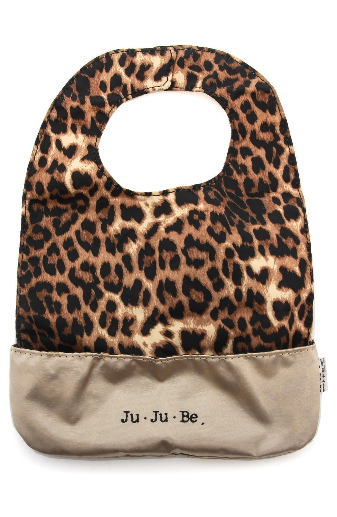 'Be Neat' Reversible Bib,                             Alternate thumbnail 2, color,                             The Queen Of The Jungle