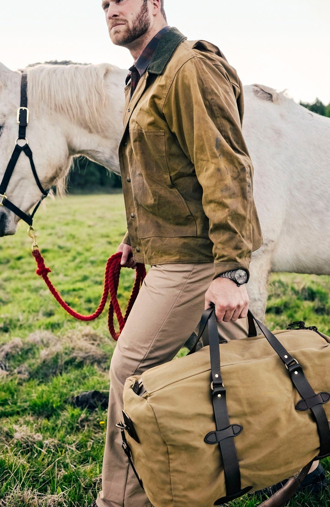 Alternate Image 5  - Filson Medium Duffel Bag