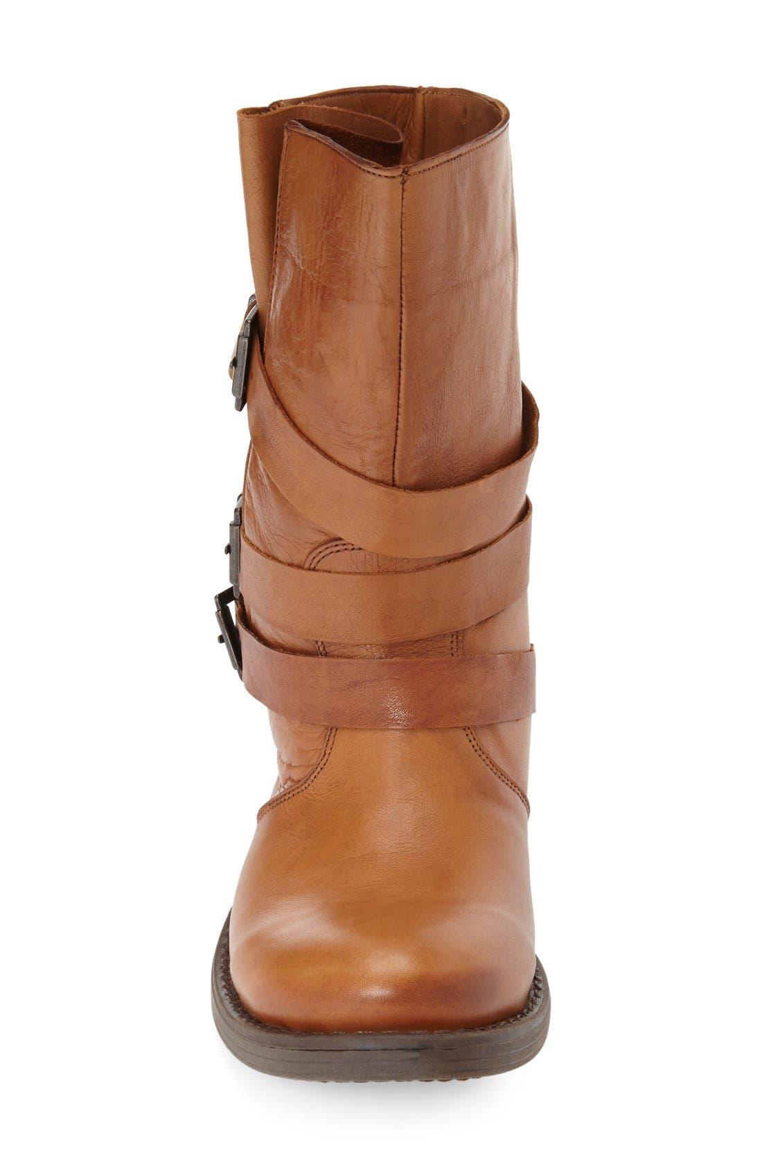 Alternate Image 3  - Miz Mooz 'Clang' Leather Moto Bootie (Women)