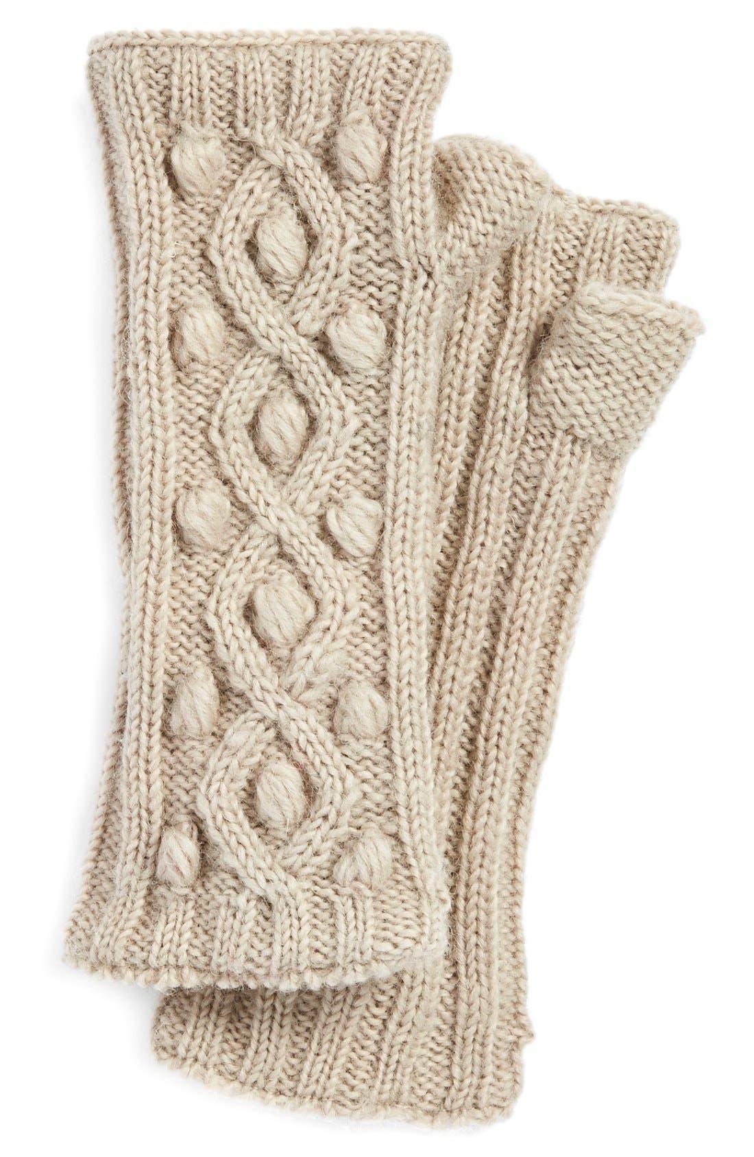 Alternate Image 1 Selected - NirvannaDesigns 'Tree Berry'Knit HandWarmers