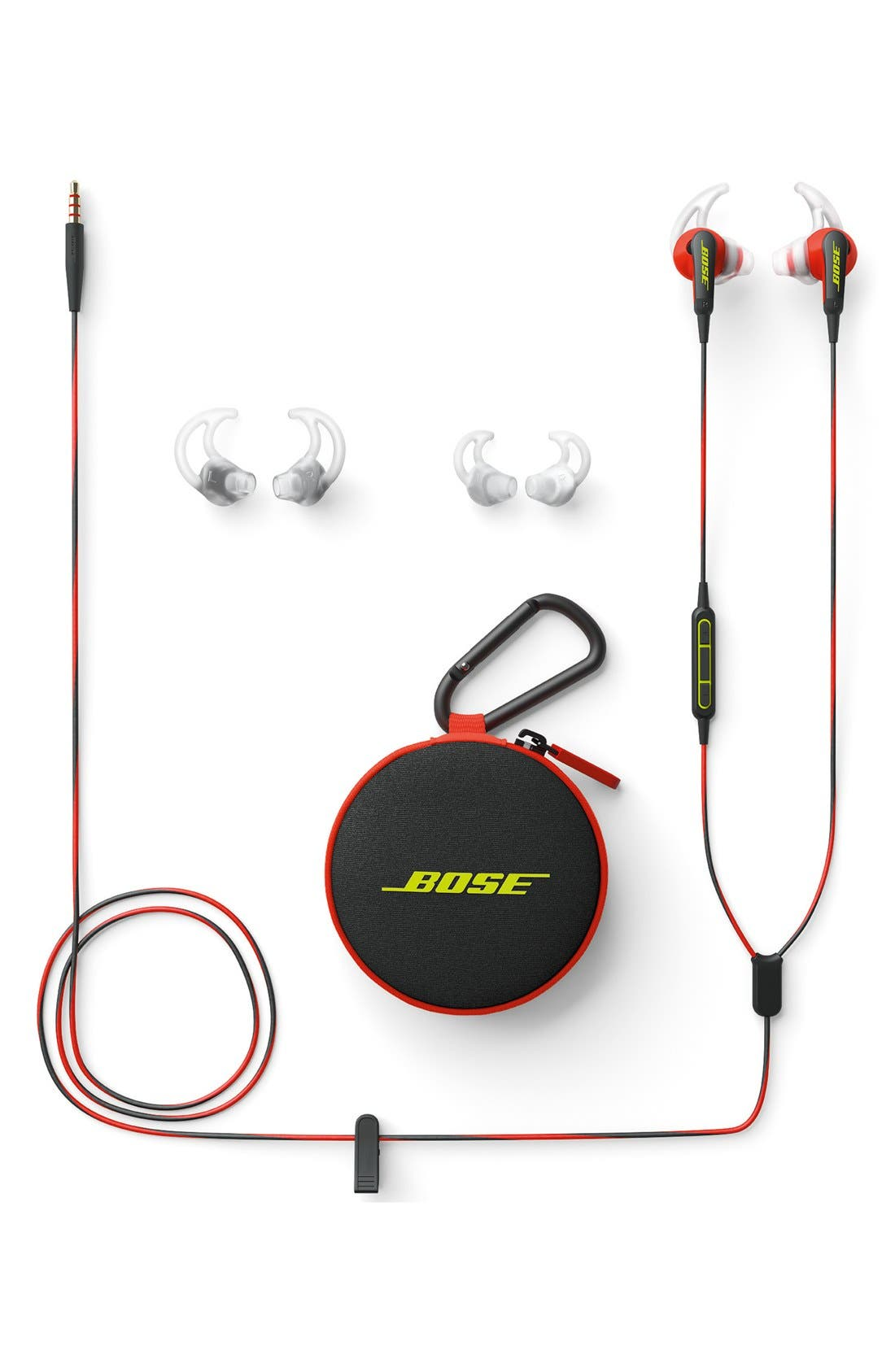 SoundSport<sup>®</sup> In-Ear Headphones,                             Alternate thumbnail 3, color,                             Power Red