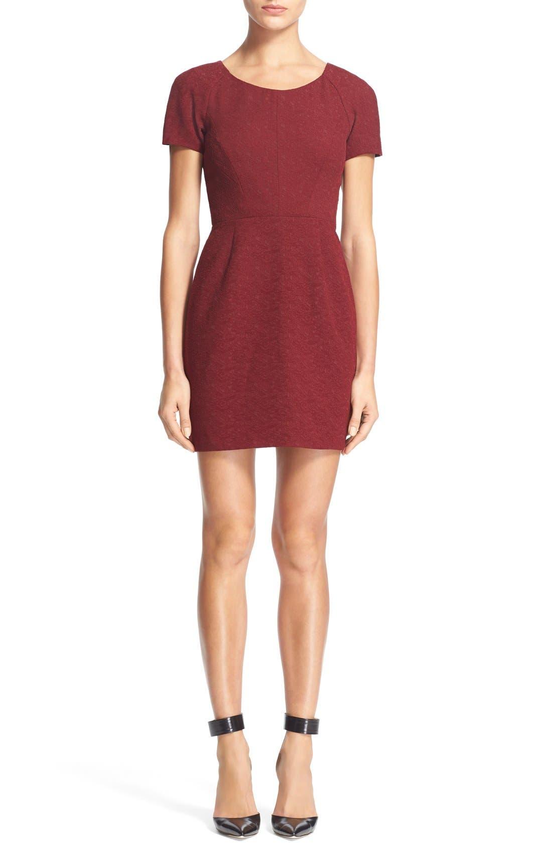 Main Image - The KooplesFloral Jacquard Sheath Dress