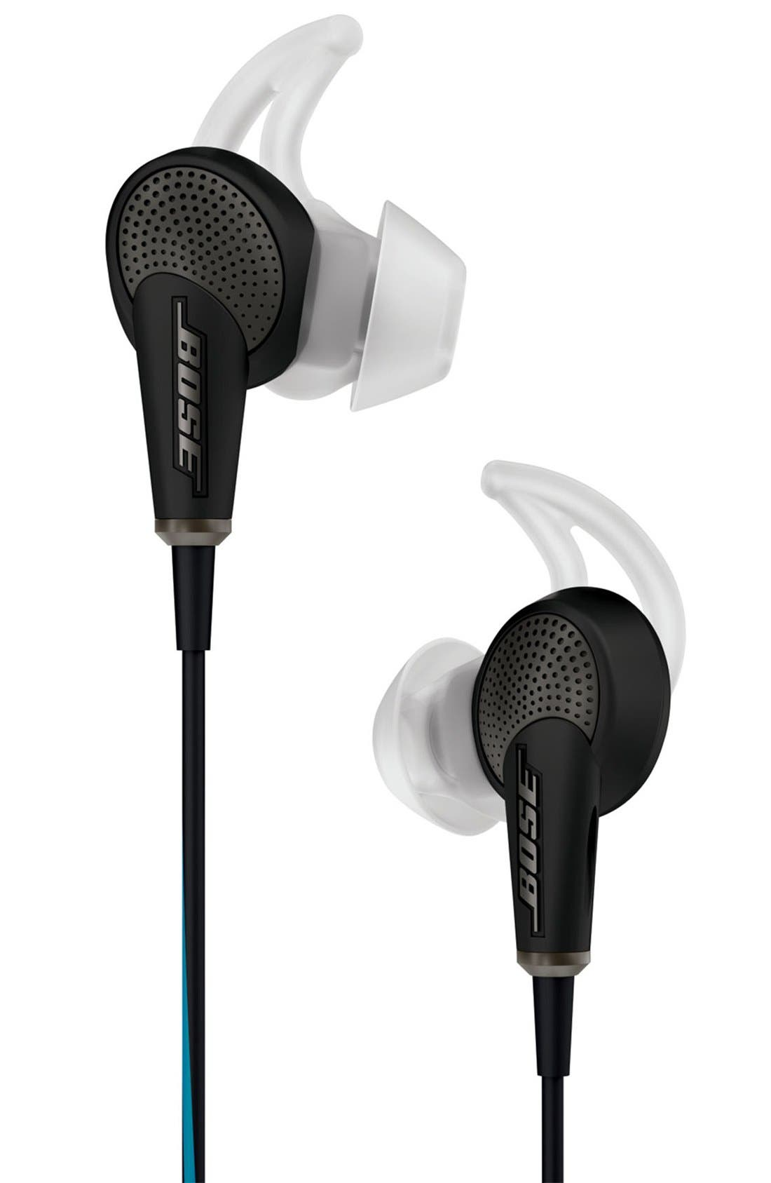 QuietComfort<sup>®</sup> 20 Acoustic Noise Cancelling<sup>®</sup> Headphones,                         Main,                         color, Black