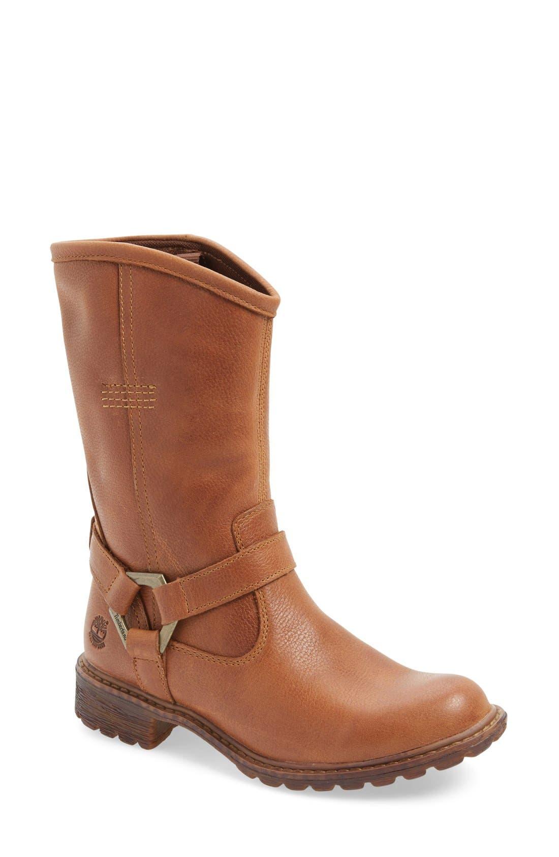 Alternate Image 1 Selected - Timberland Earthkeepers® 'Stoddard' Mid Waterproof Boot (Women)