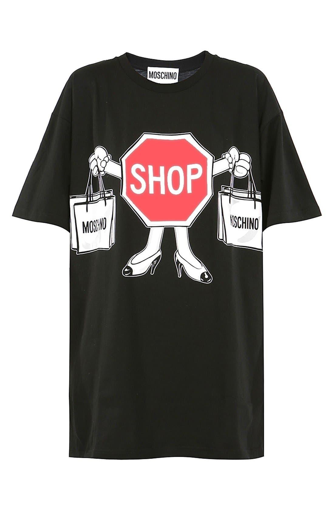 Alternate Image 3  - Moschino'1st Story' Short Sleeve Graphic Tee