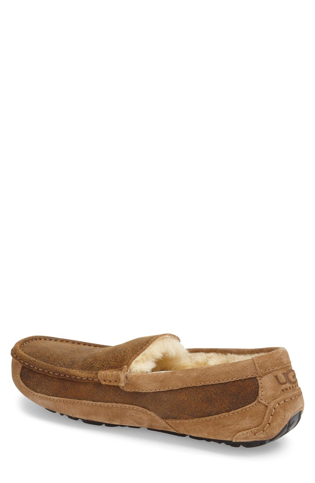 Alternate Image 2  - UGG® Ascot Bomber Slipper (Men)