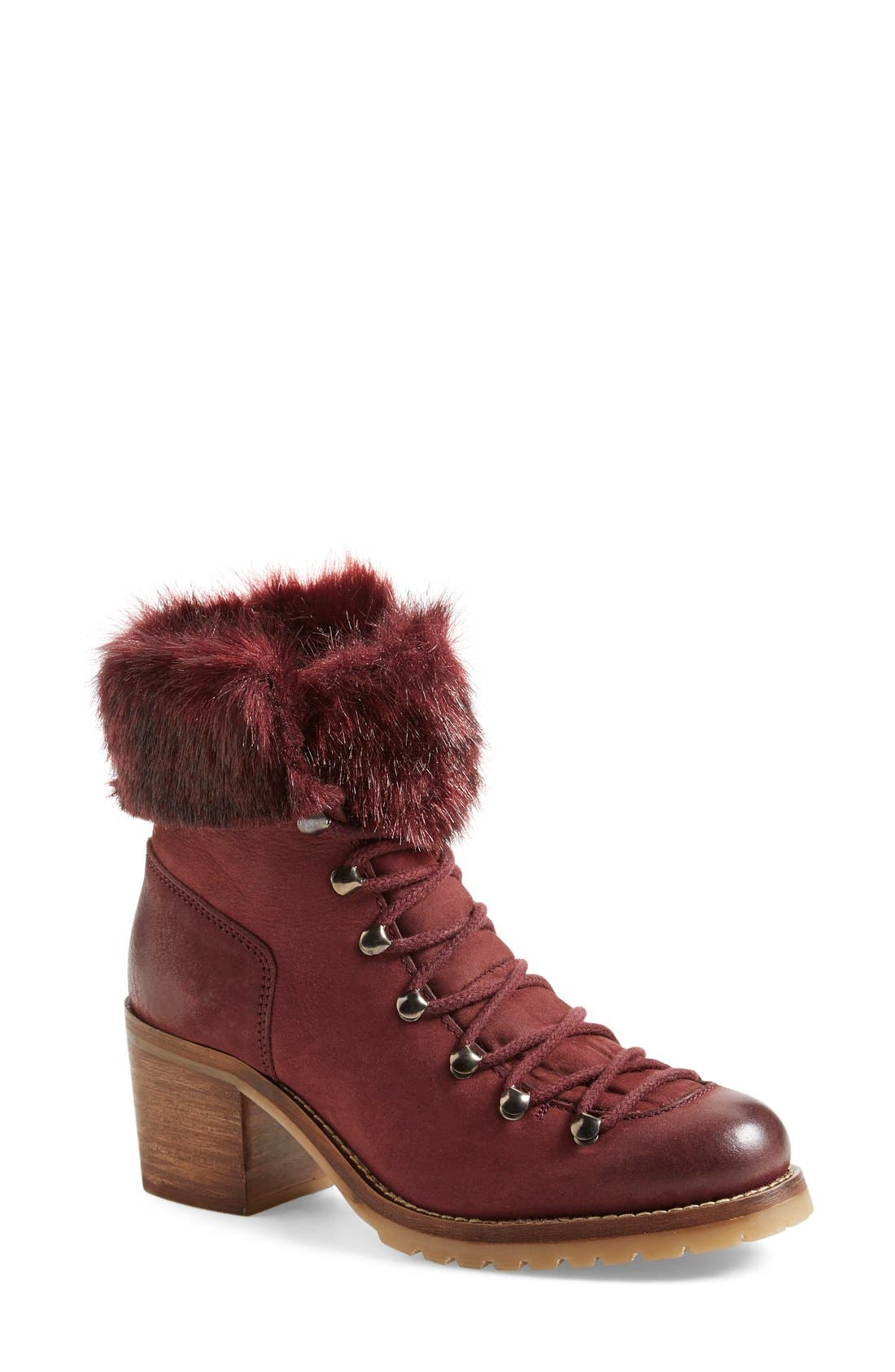 Alternate Image 1 Selected - Steve Madden 'Huck' Lace-Up Bootie (Women)