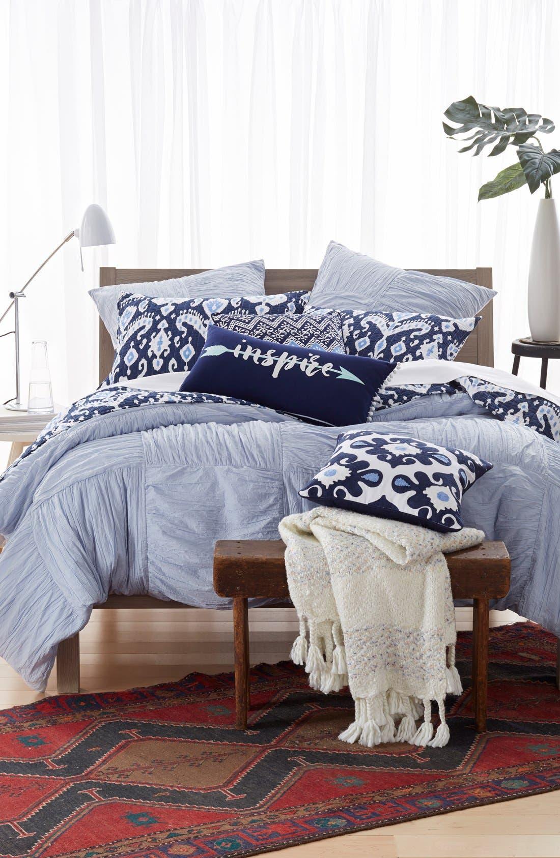 Alternate Image 3  - Levtex 'Inspire' Pom Pom Pillow