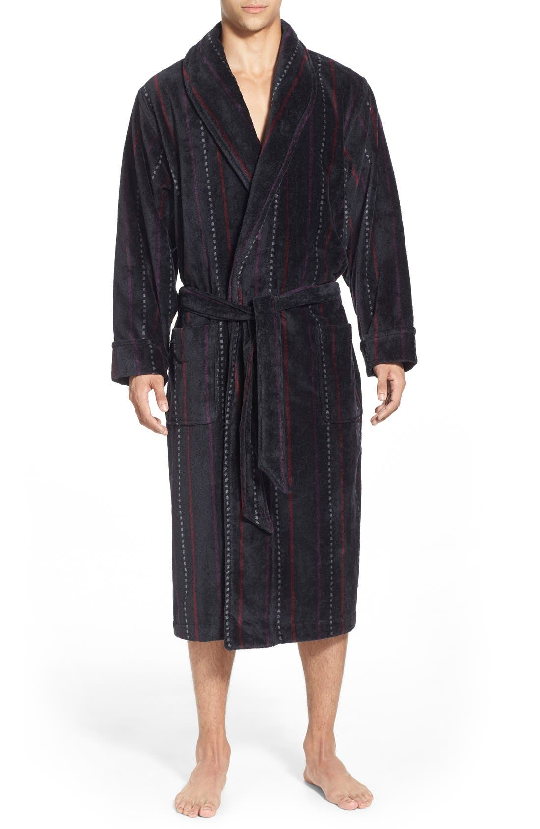 Alternate Image 1 Selected - Nordstrom Men's Shop Terry Shawl Robe