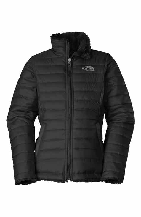 d59154dc2f The North Face  Mossbud Swirl  Reversible Water Repellent Jacket (Little  Girls   Big Girls)