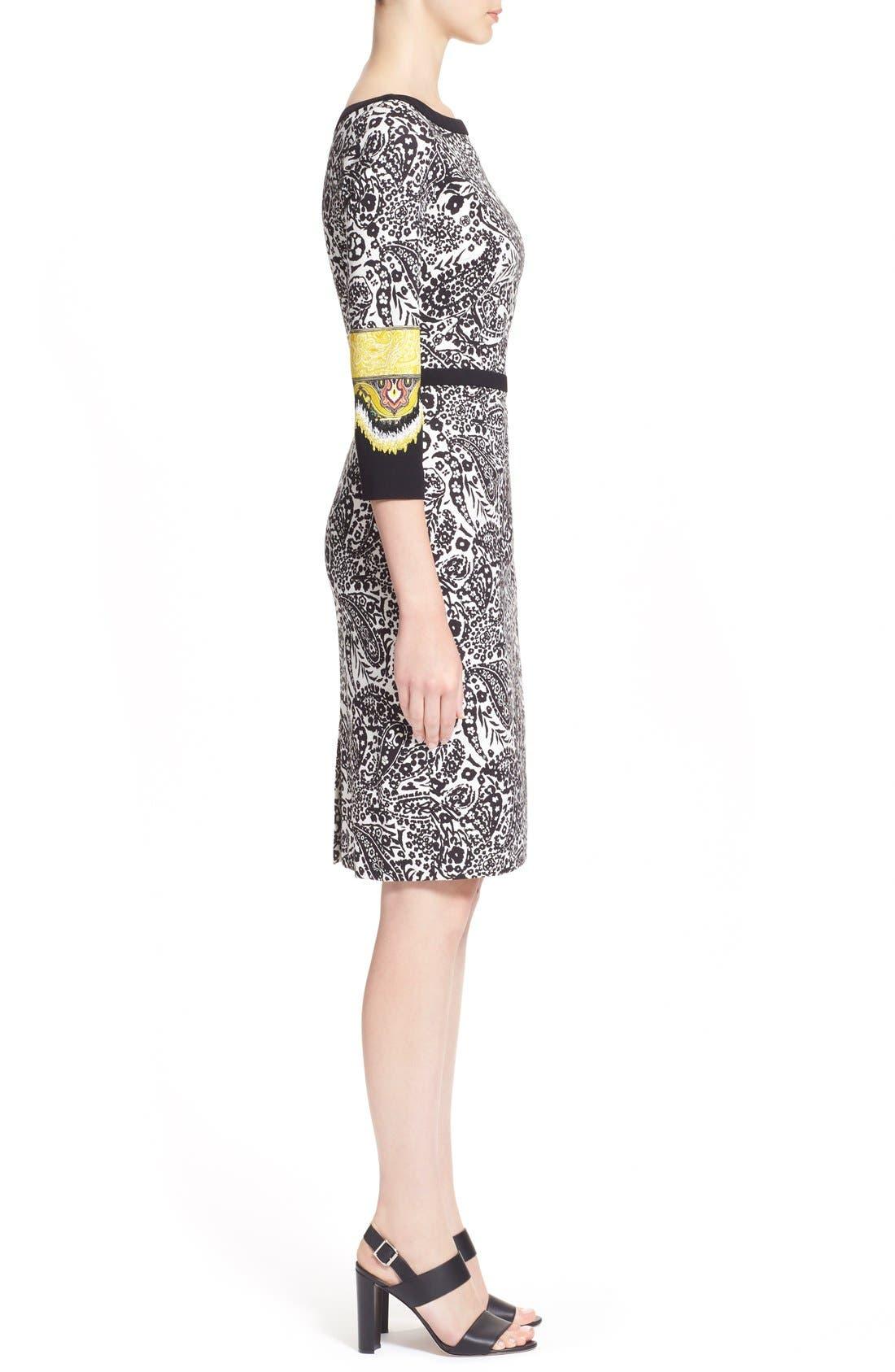 Alternate Image 5  - Etro Paisley Print Stretch Jersey Dress