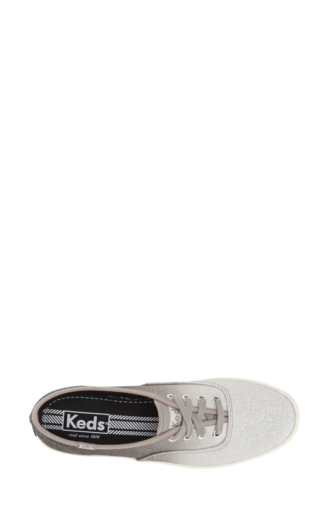 Alternate Image 3  - Keds® 'Champion - Ombré Glitter' Sneaker (Women)