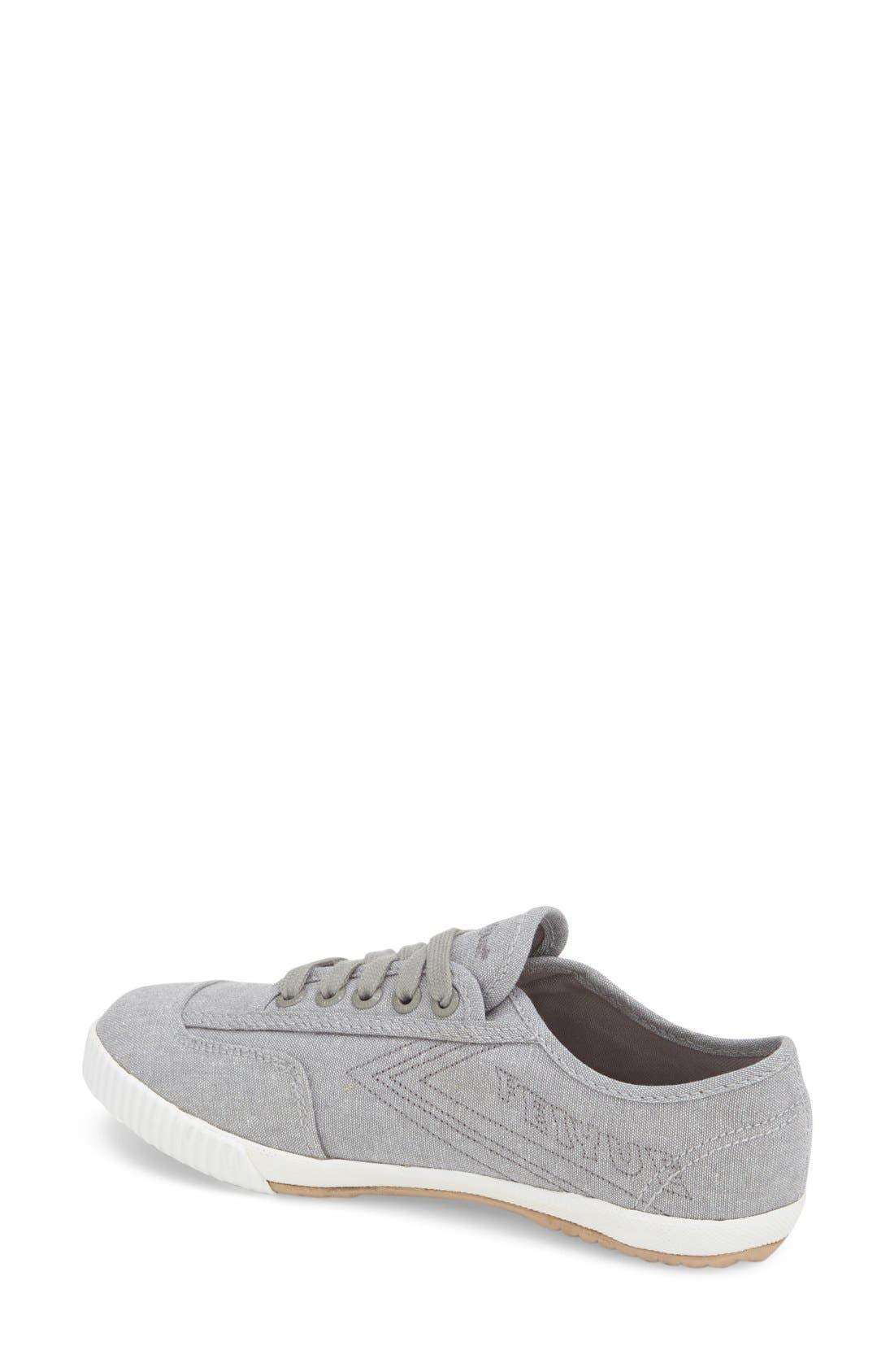 Alternate Image 2  - Feiyue. 'Fe Lo Plain' Chambray Sneaker (Women)