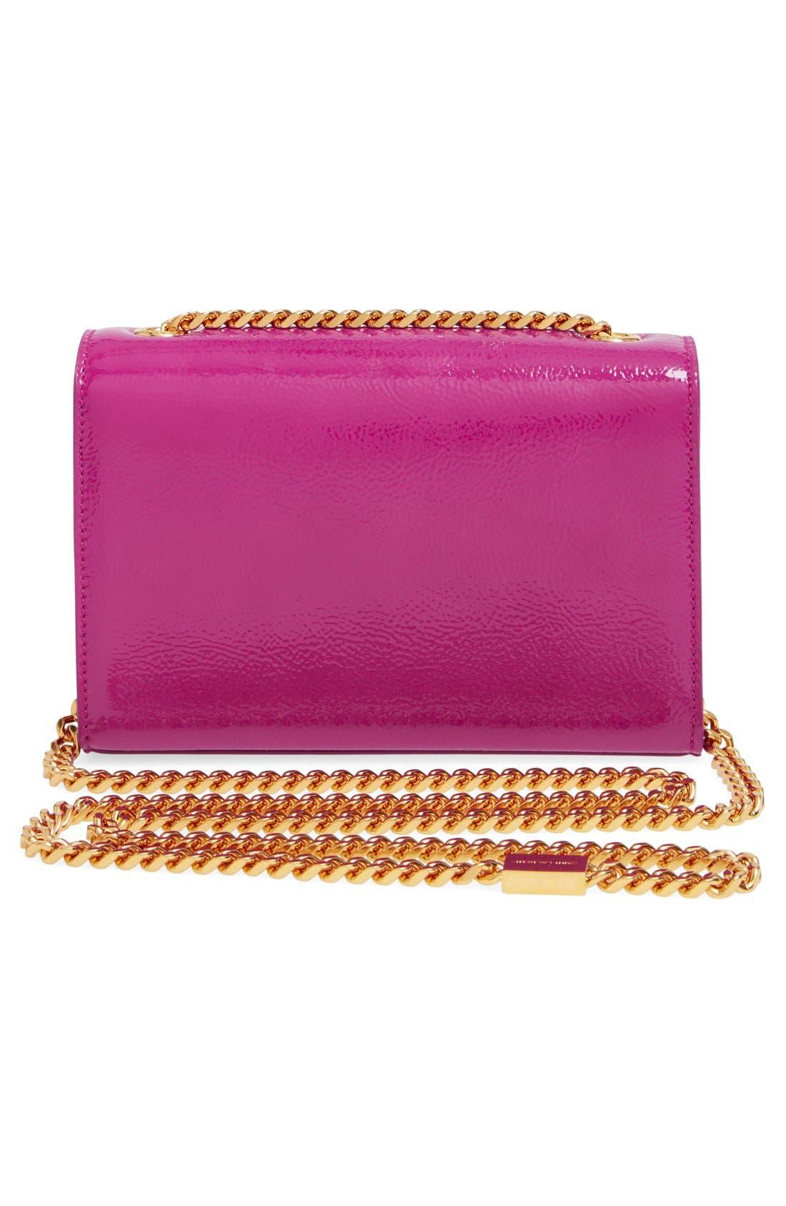 Alternate Image 3  - Saint Laurent 'Mini Monogram Vernis' Handbag