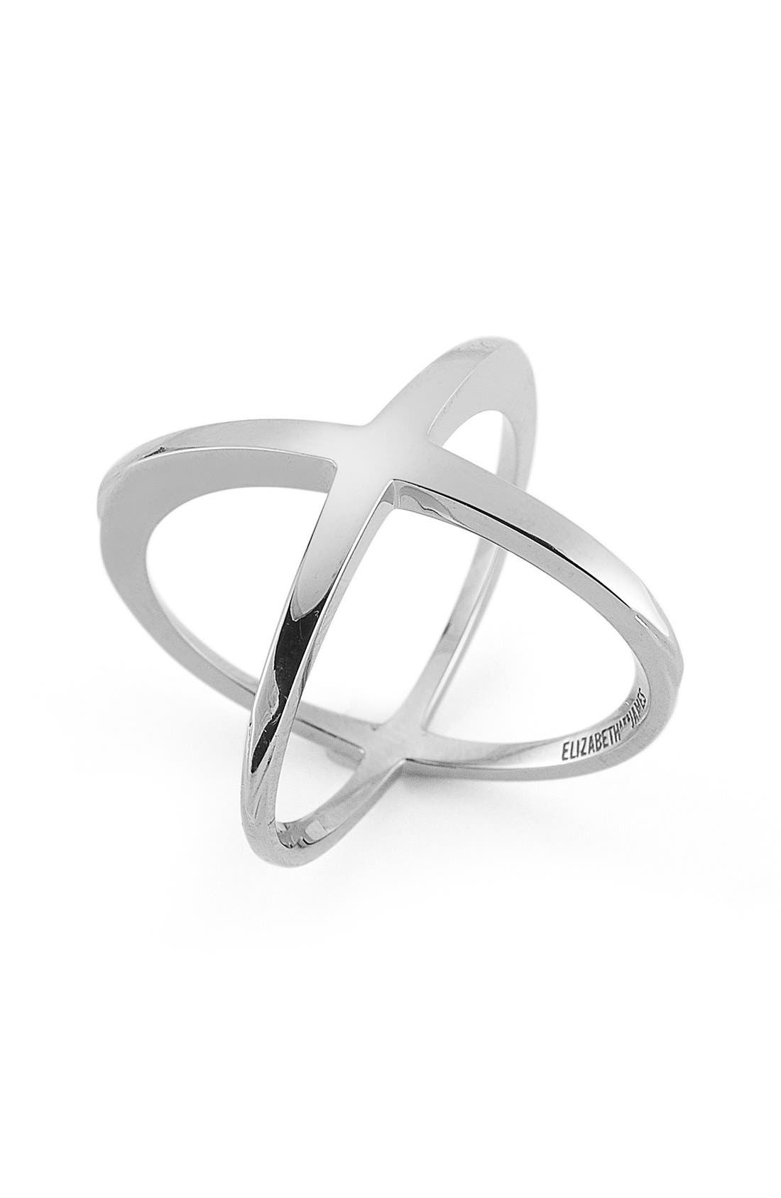 'Windrose' Ring,                         Main,                         color, Silver