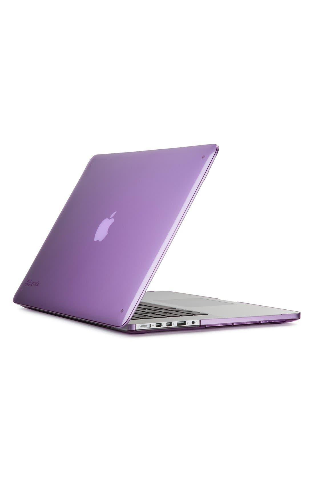 Main Image - Speck 'SmartShell' Snap-On MacBook Pro Retina Laptop Case (15 Inch)