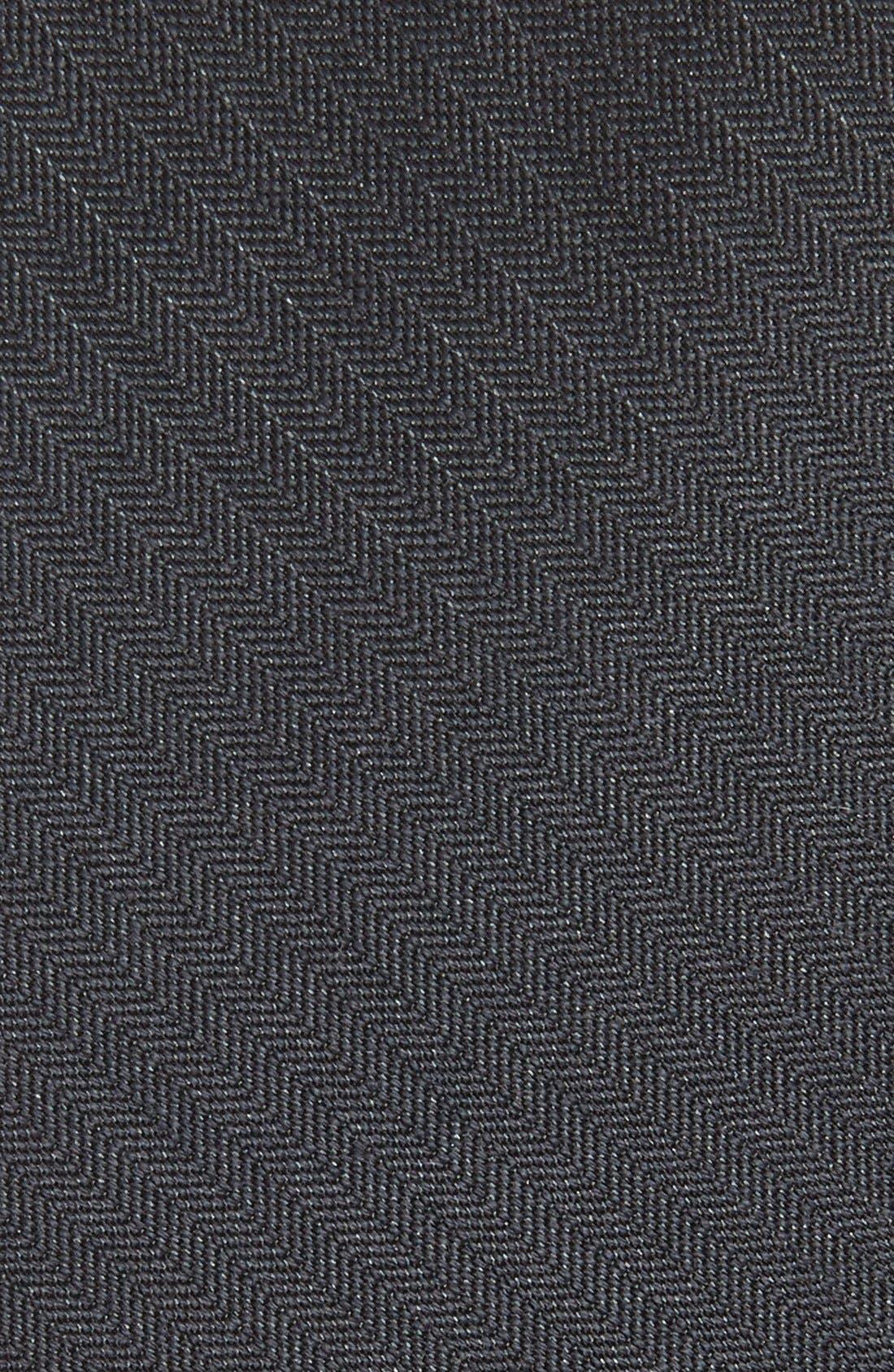 Alternate Image 2  - The Tie Bar Solid Wool & Silk Tie